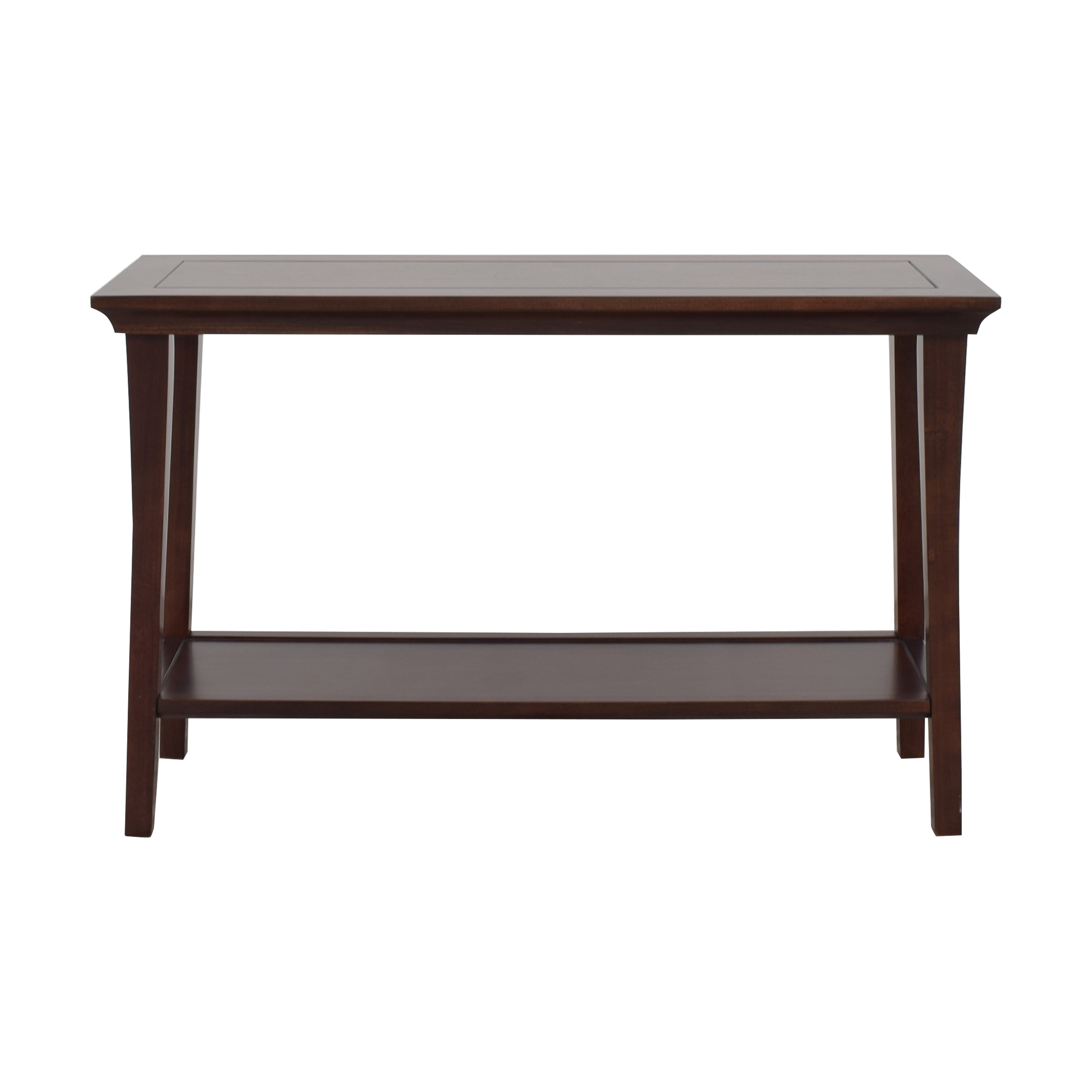 buy Pottery Barn Two Level Console Table Pottery Barn Accent Tables