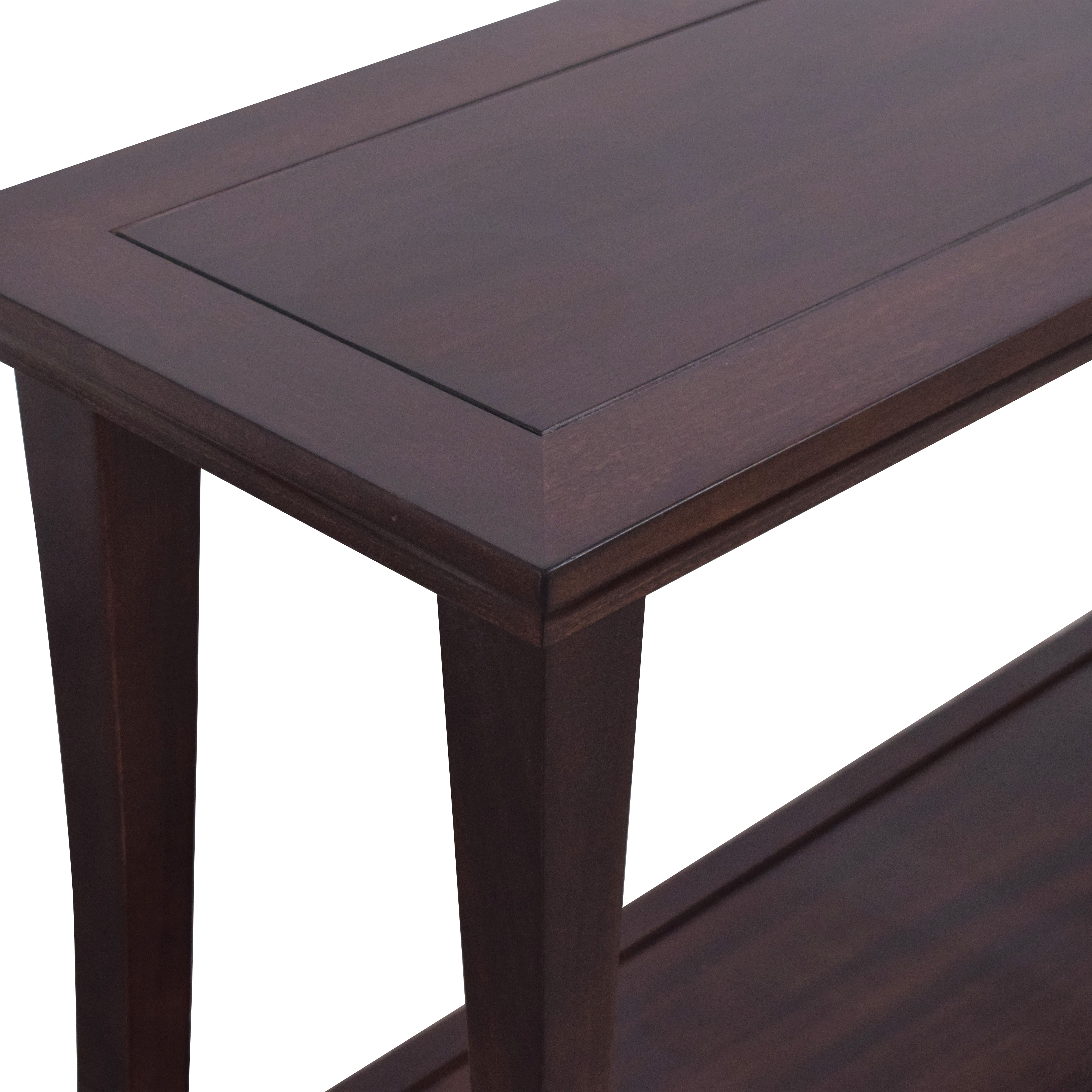 buy Pottery Barn Two Level Console Table Pottery Barn Tables