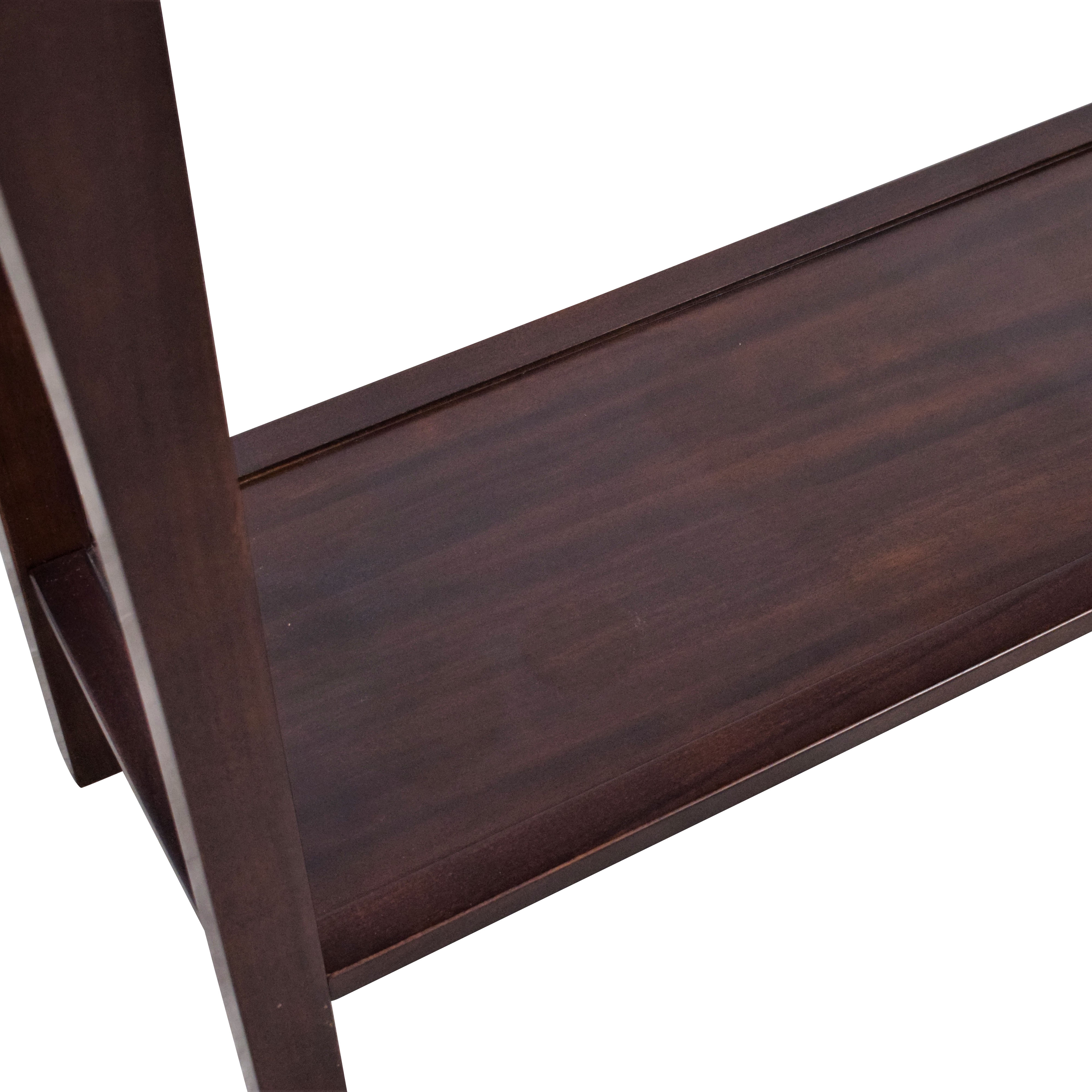 Pottery Barn Pottery Barn Two Level Console Table dimensions