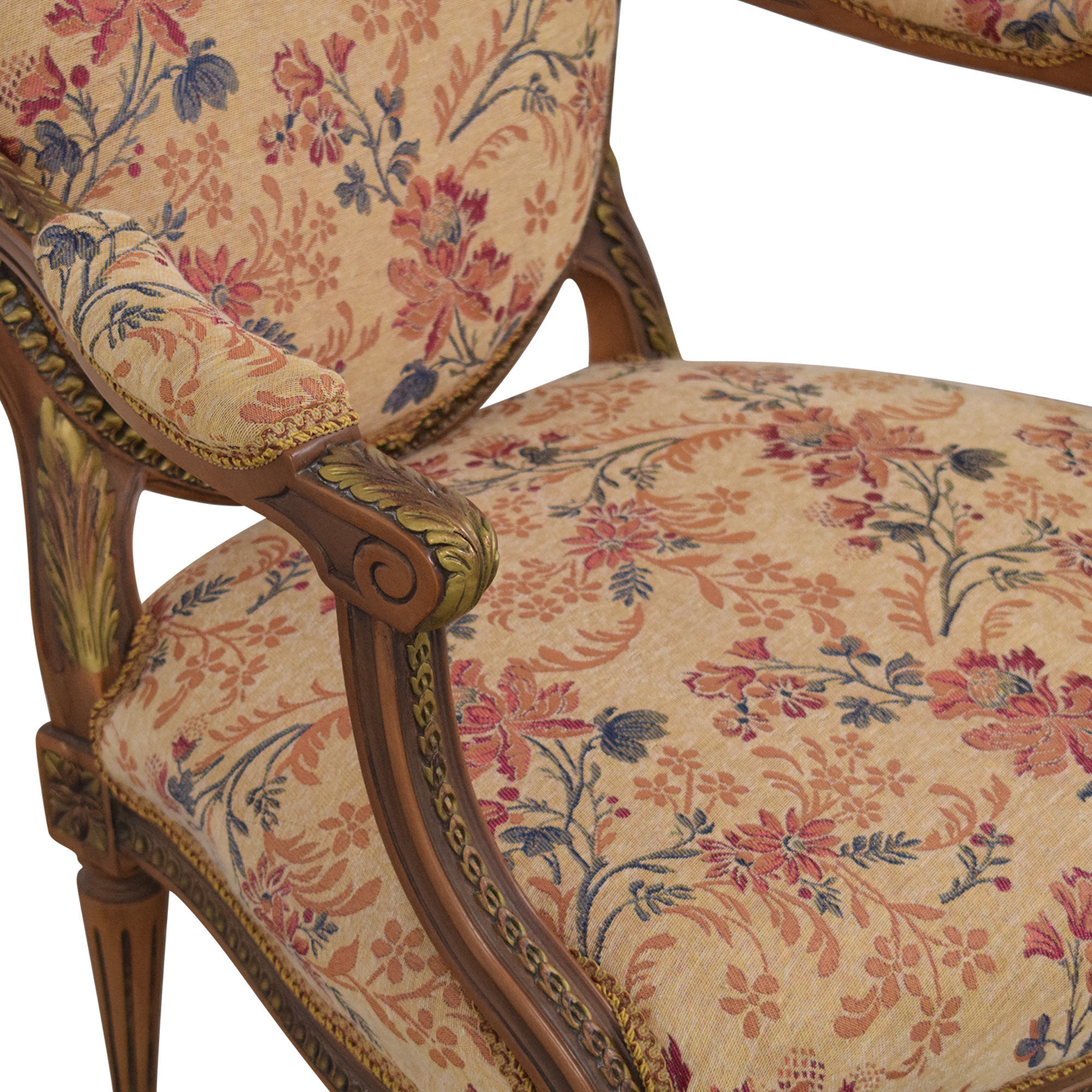 buy Custom Floral Upholstered Accent Chair  Accent Chairs