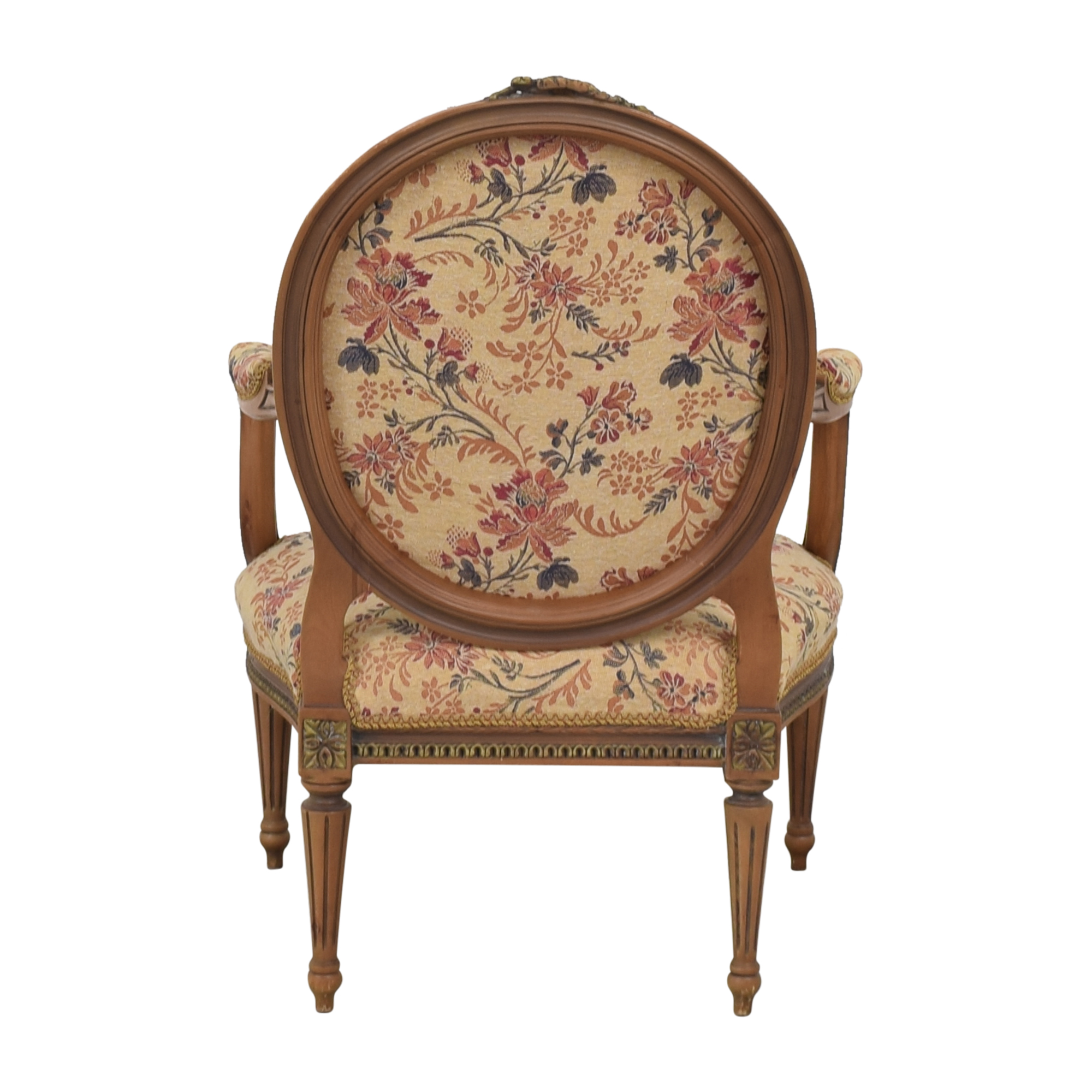 buy Custom Floral Upholstered Accent Chair