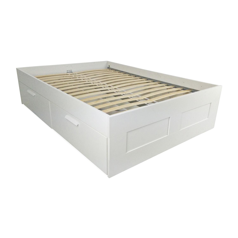 IKEA IKEA Brimnes Full Bed Frame dimensions