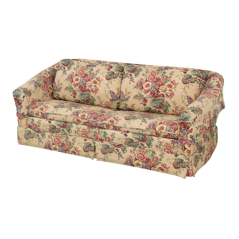Castro Convertibles Castro Convertibles Full Floral Sofa Bed ma