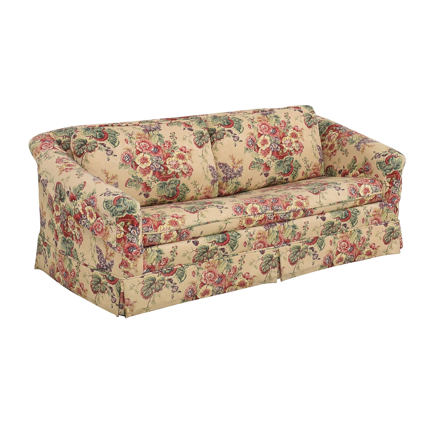 Castro Convertibles Full Floral Sofa Bed sale
