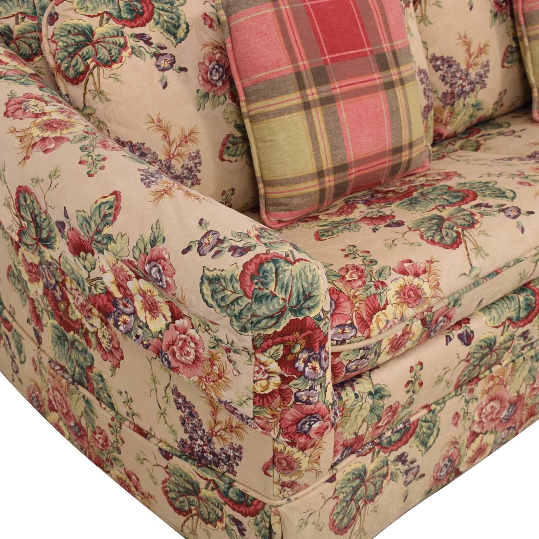 Castro Convertibles Castro Convertibles Full Floral Sofa Bed