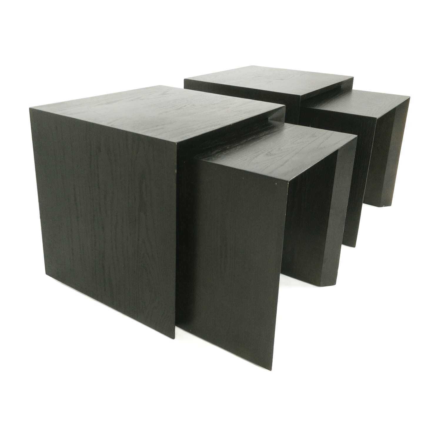 Pair of Nested Side Tables nyc