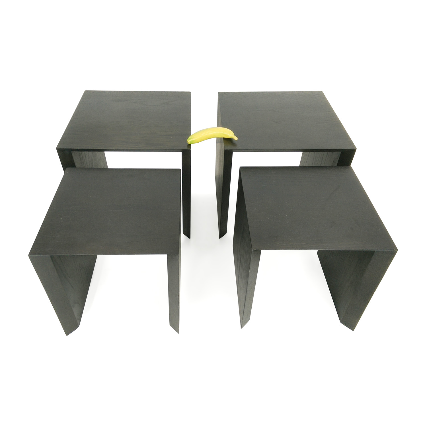 Pair of Nested Side Tables Tables