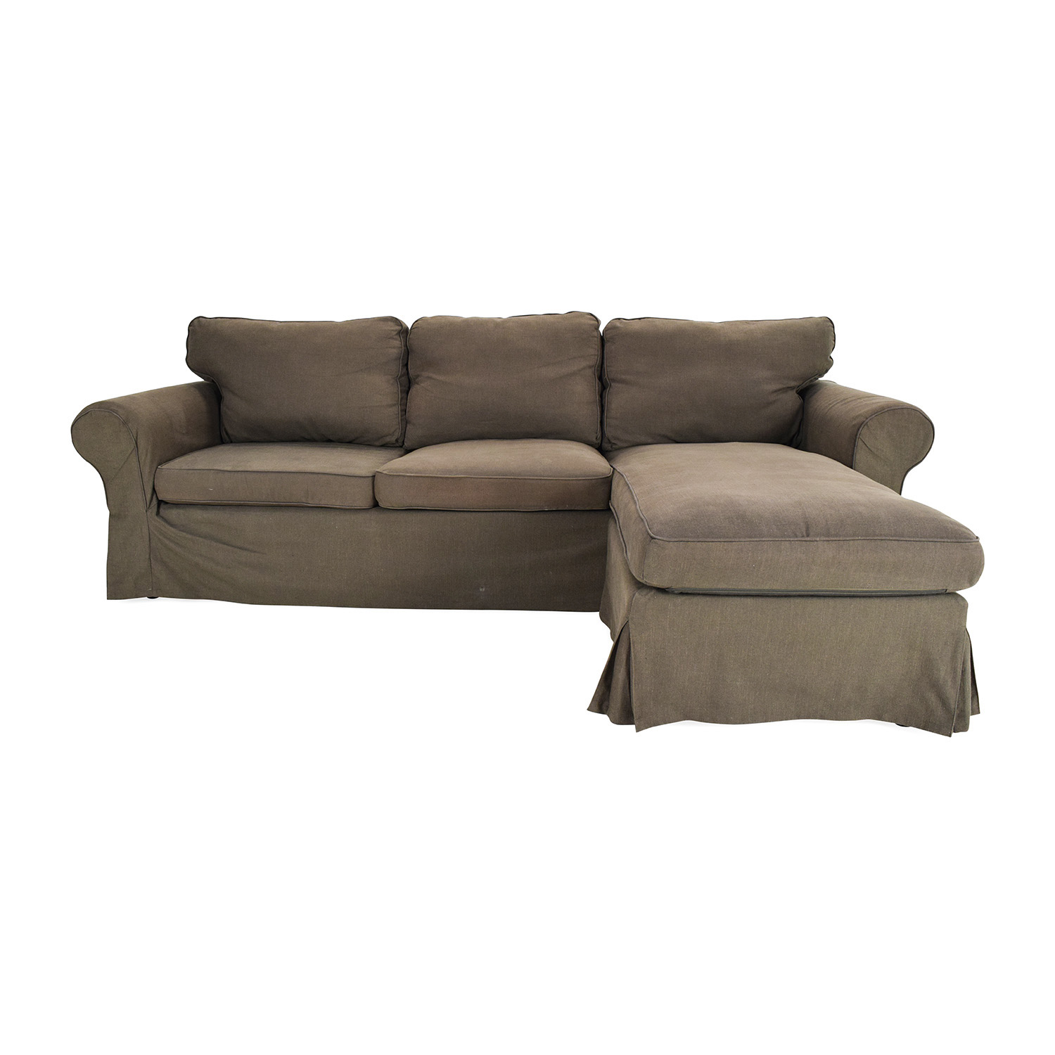 Shop l shaped couch for Brown couch with chaise