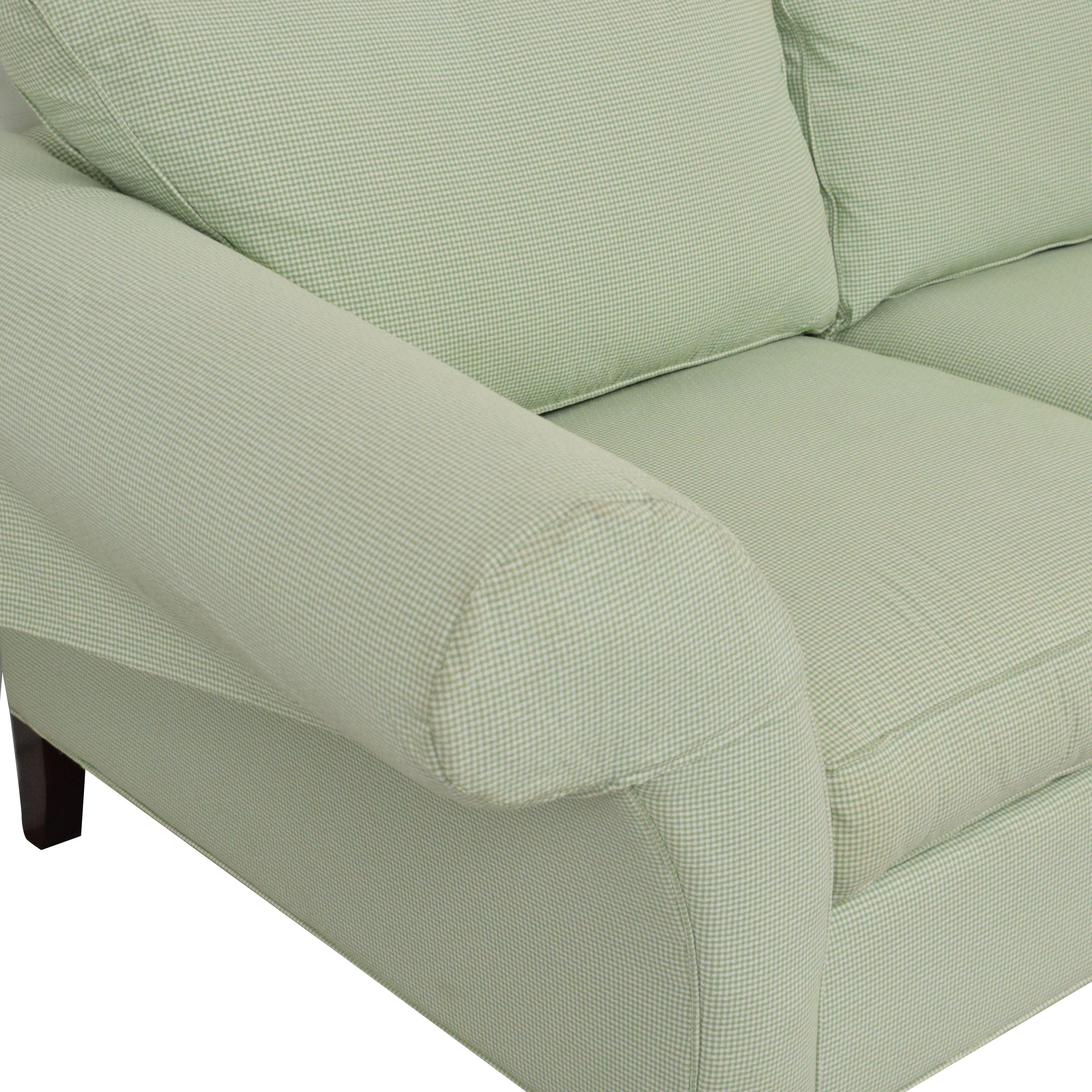 buy Ethan Allen Two Cushion Loveseat Ethan Allen Loveseats