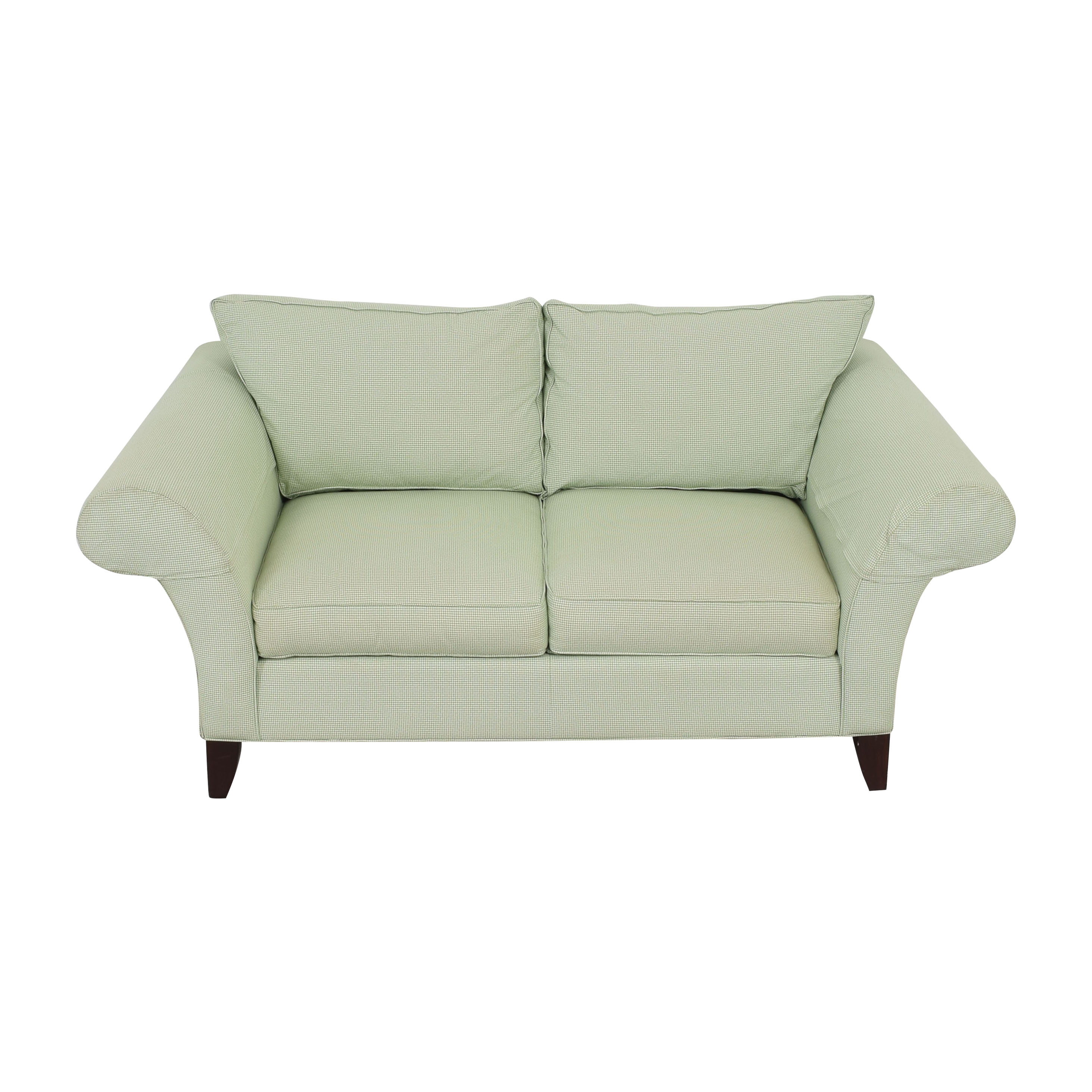 shop Ethan Allen Two Cushion Loveseat Ethan Allen Loveseats