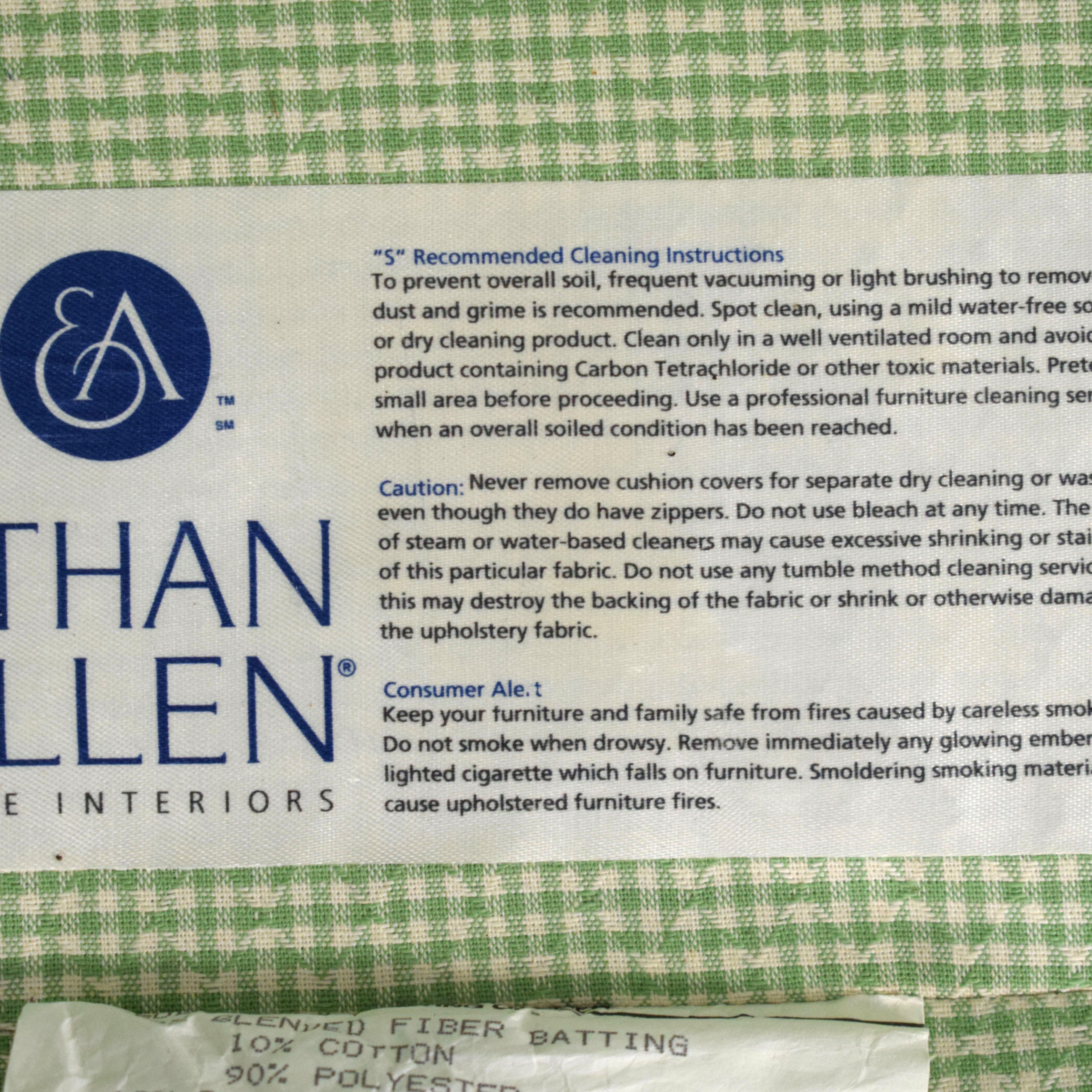Ethan Allen Ethan Allen Two Cushion Loveseat ma