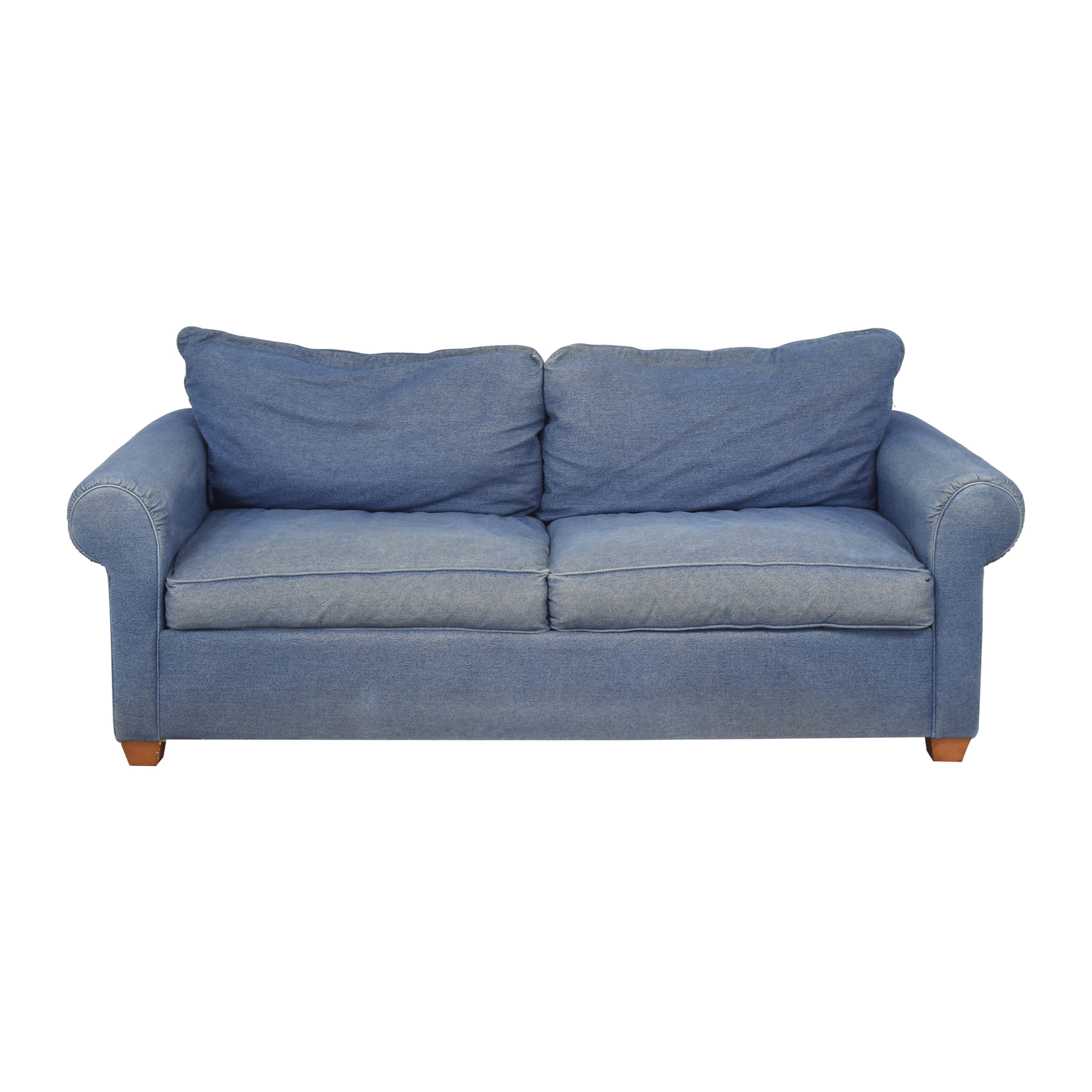 Leggett & Platt Leggett & Platt Denim Queen Pull Out Sofa dimensions