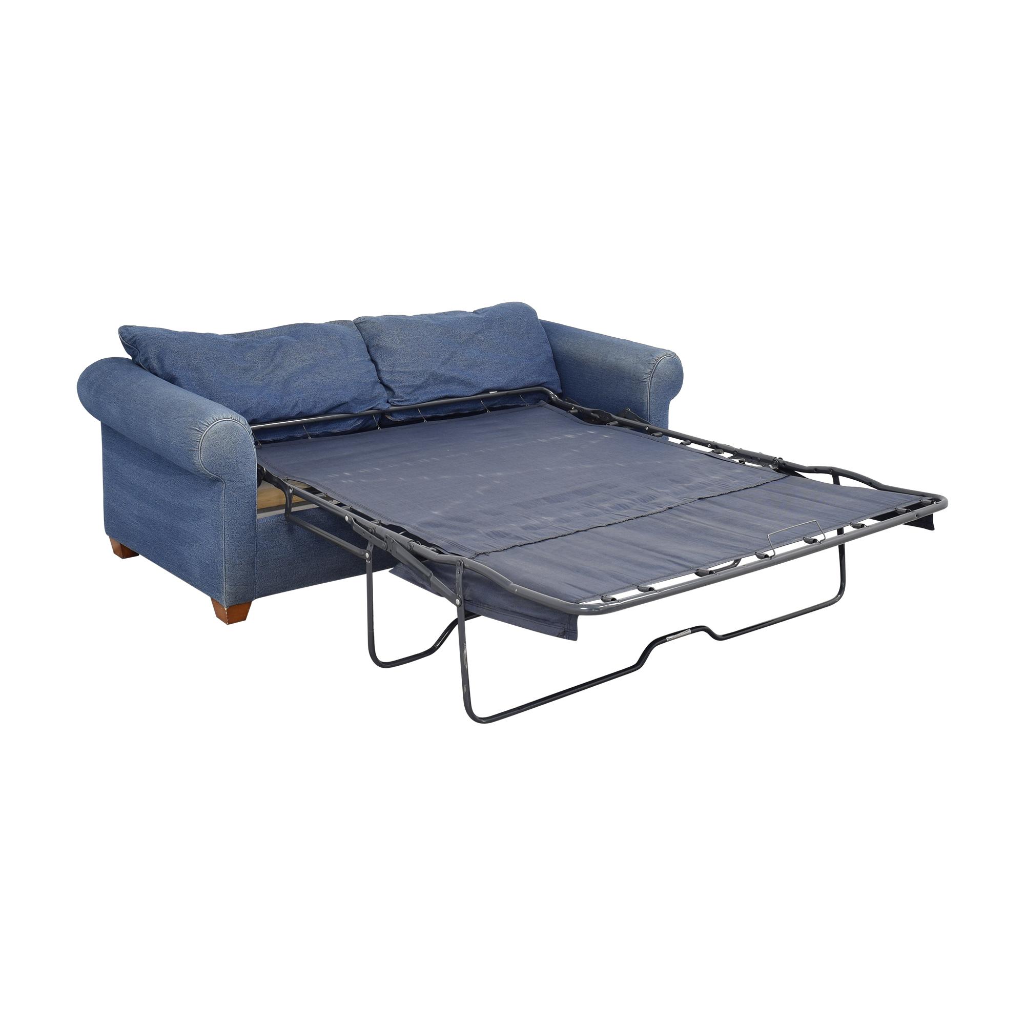 shop Leggett & Platt Leggett & Platt Denim Queen Pull Out Sofa online