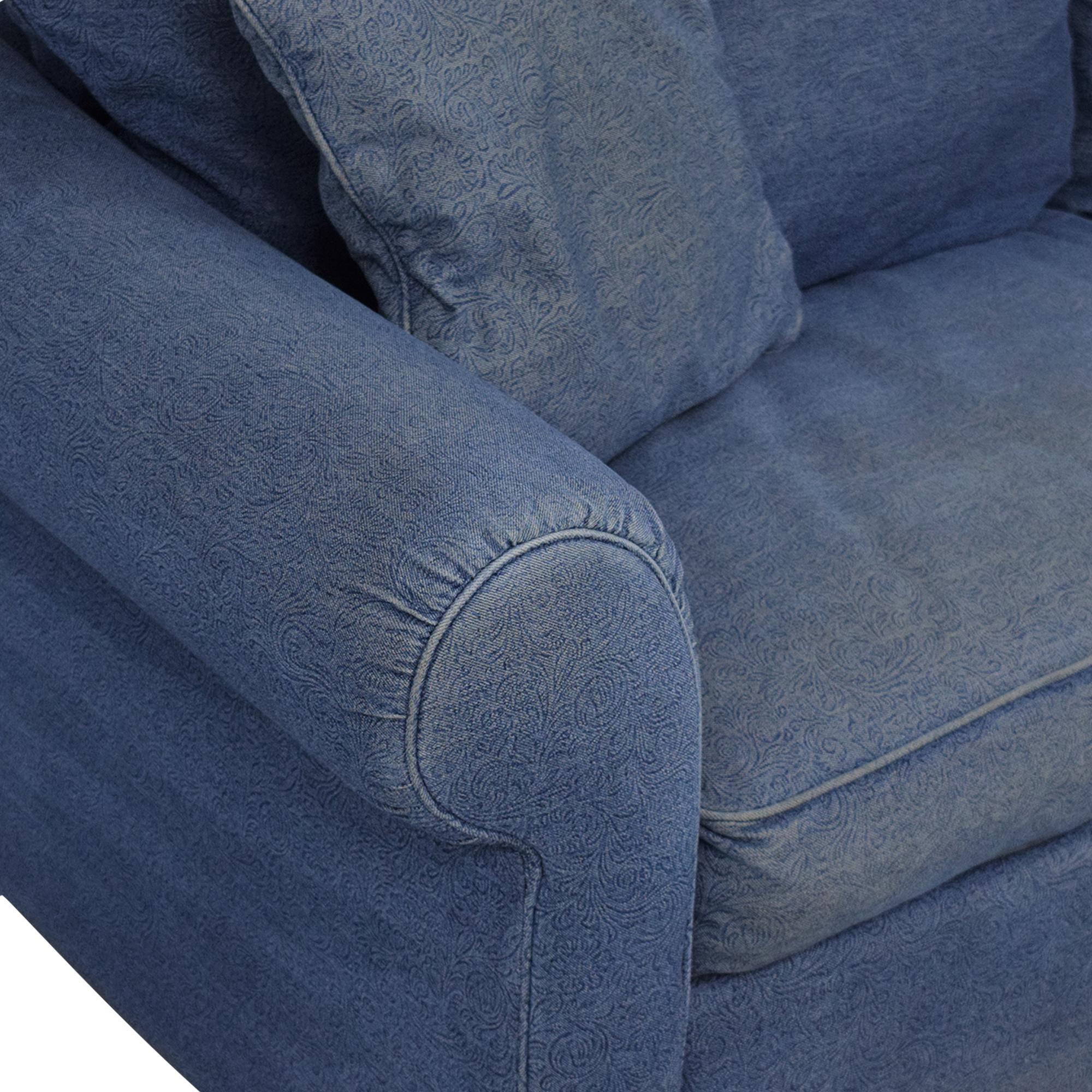 Leggett & Platt Leggett & Platt Denim Queen Pull Out Sofa on sale