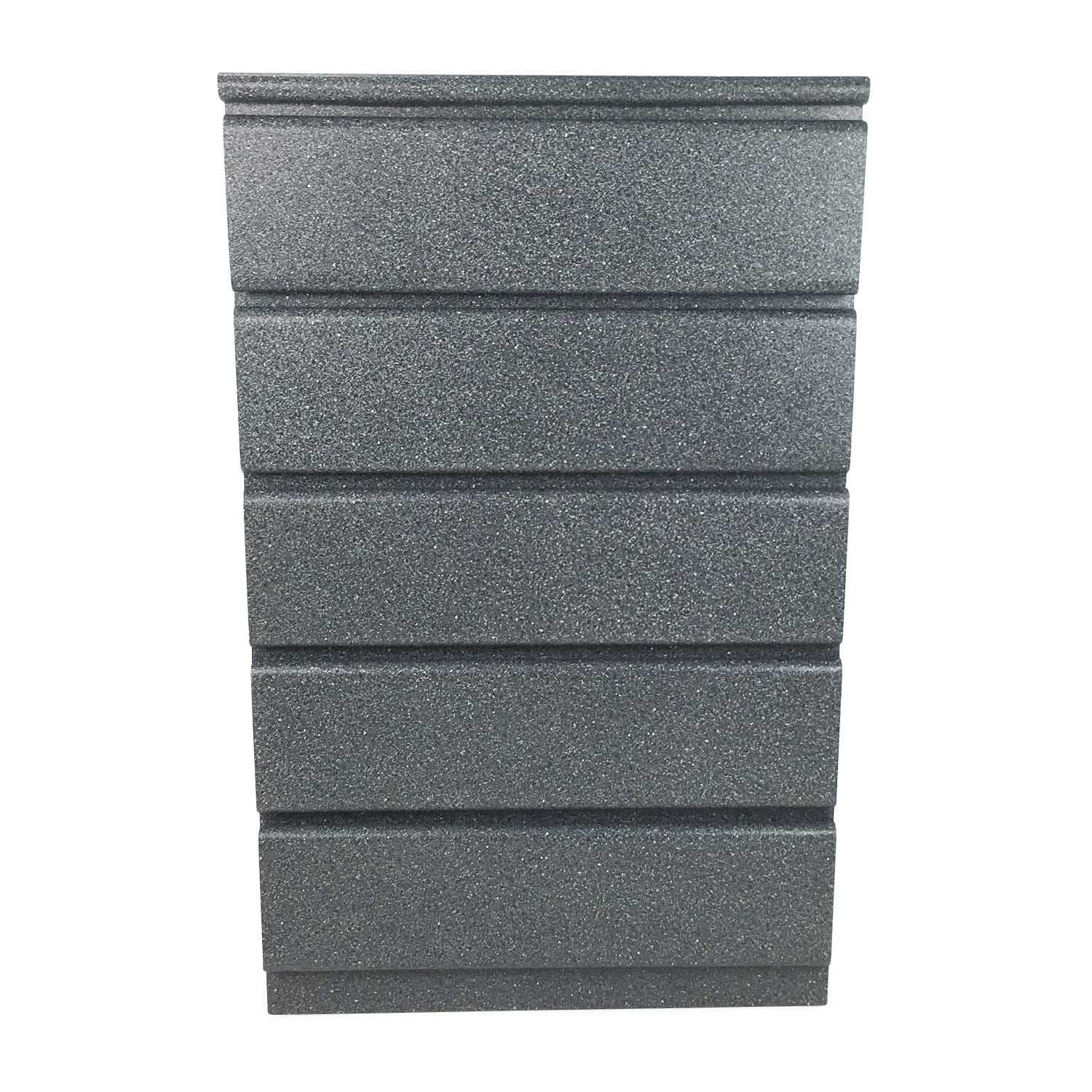 5 Drawer Dresser in Gray / Dressers