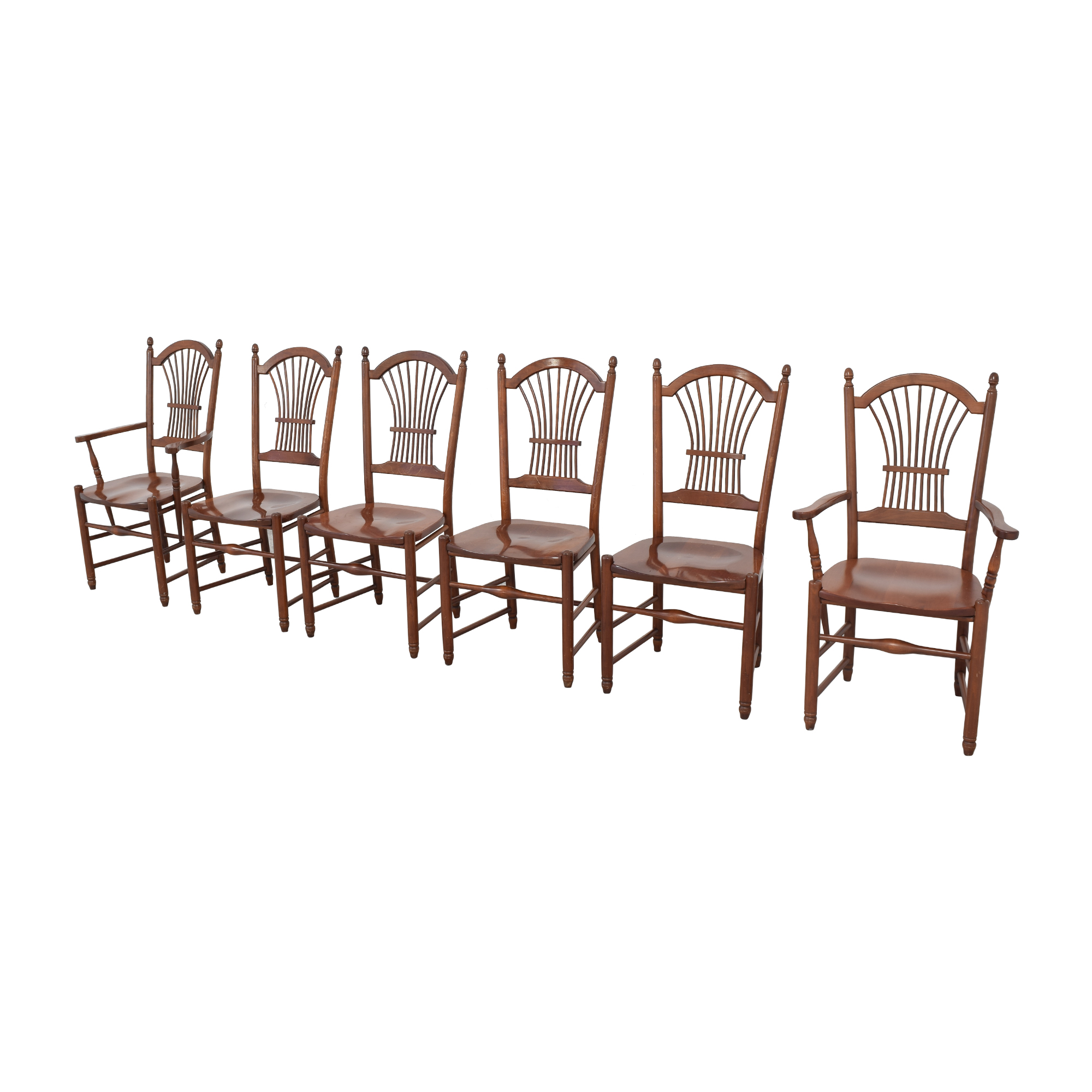 Classic Press Back Dining Chairs Chairs