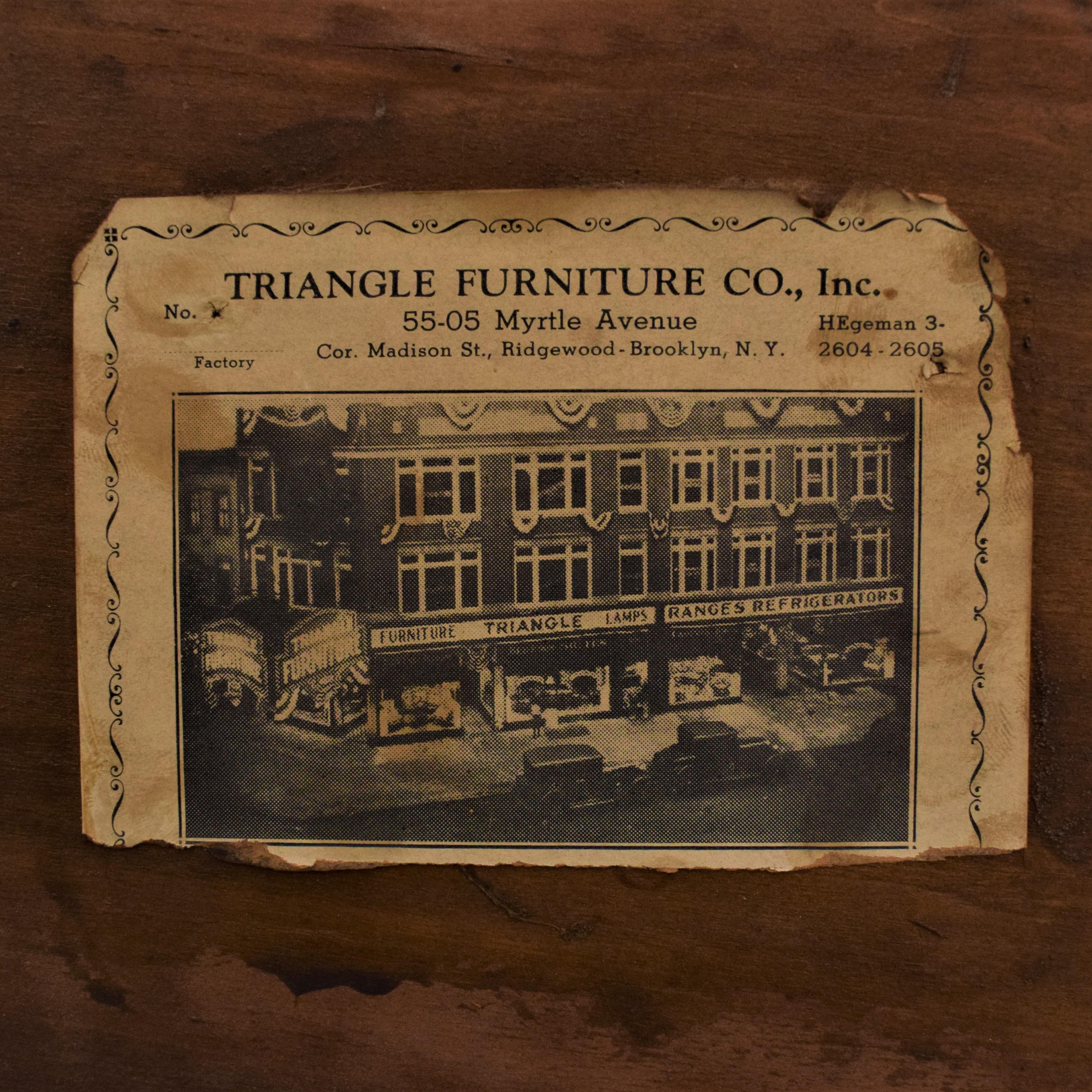 Triangle Furniture Mid-Century Dresser / Dressers