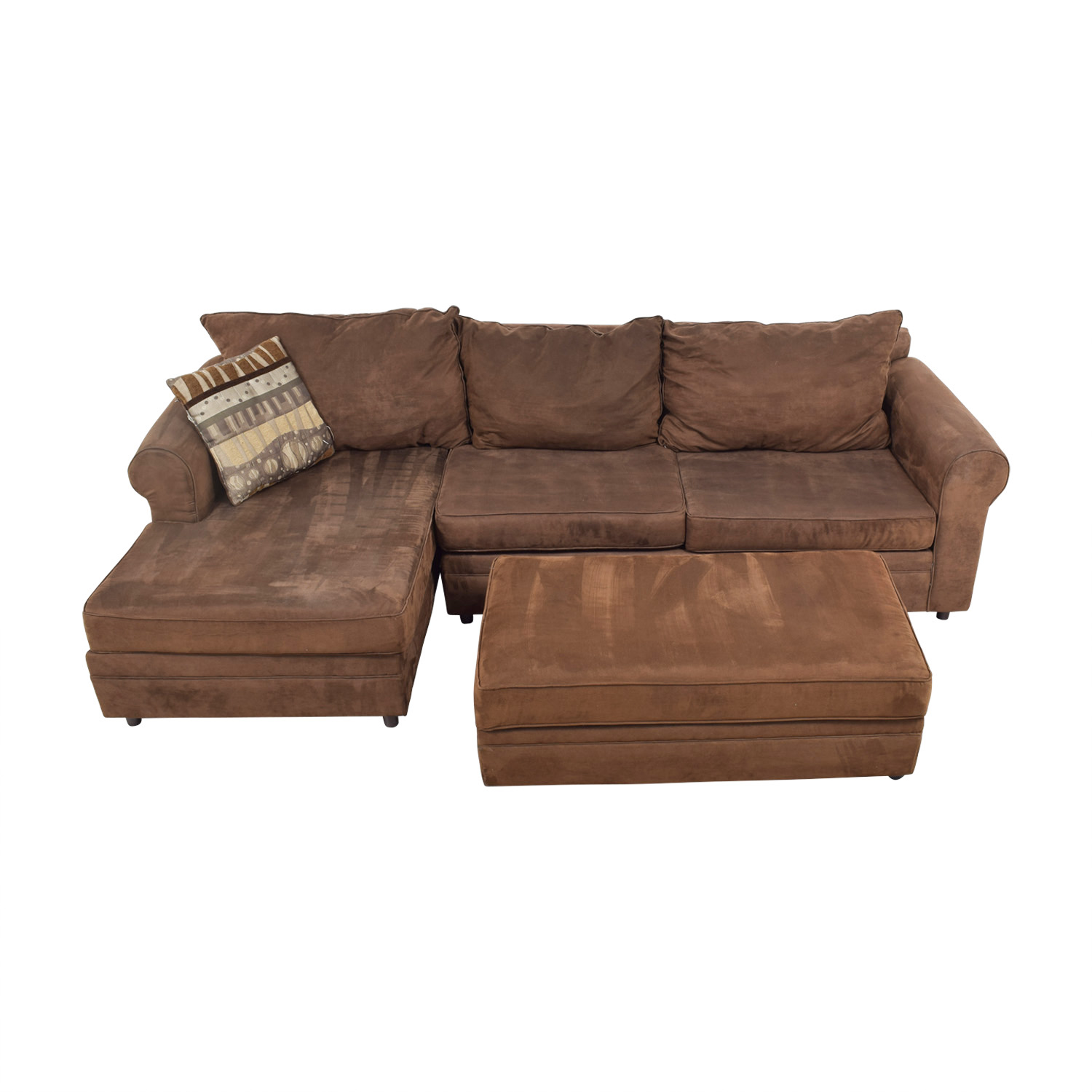 Chocolate Brown Sectional coupon