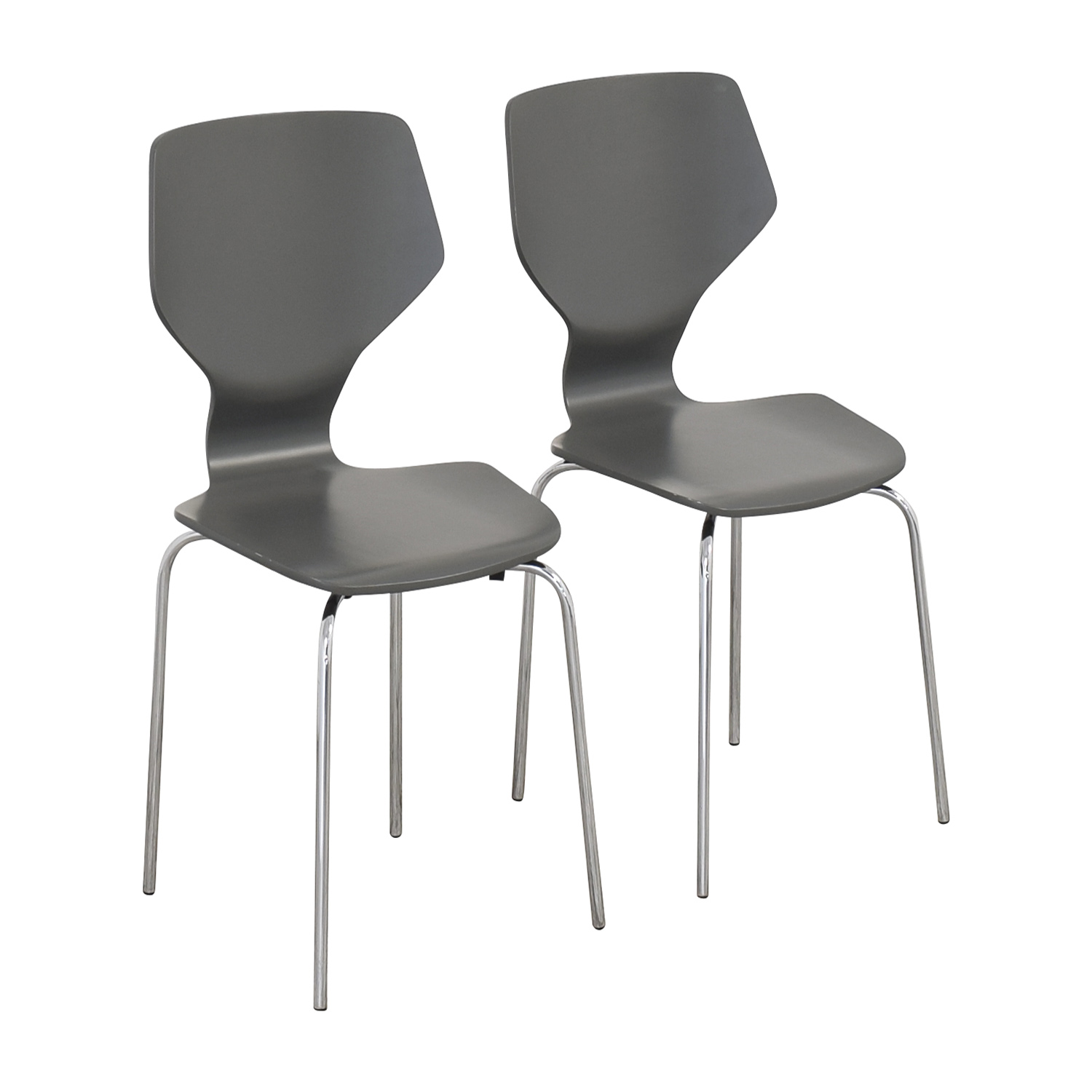 Room & Board Room & Board Modern Pike Side Chairs ma
