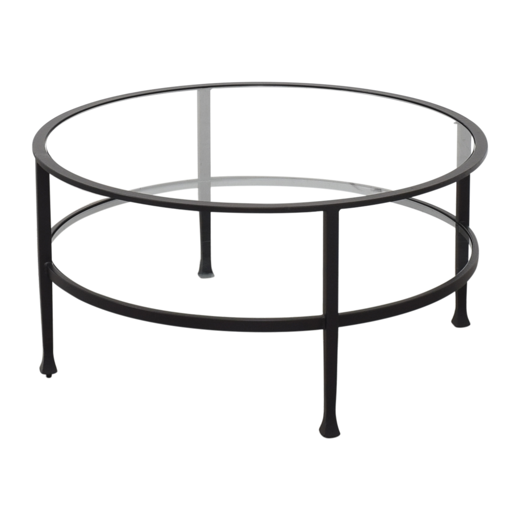 Pottery Barn Pottery Barn Tanner Round Coffee Table