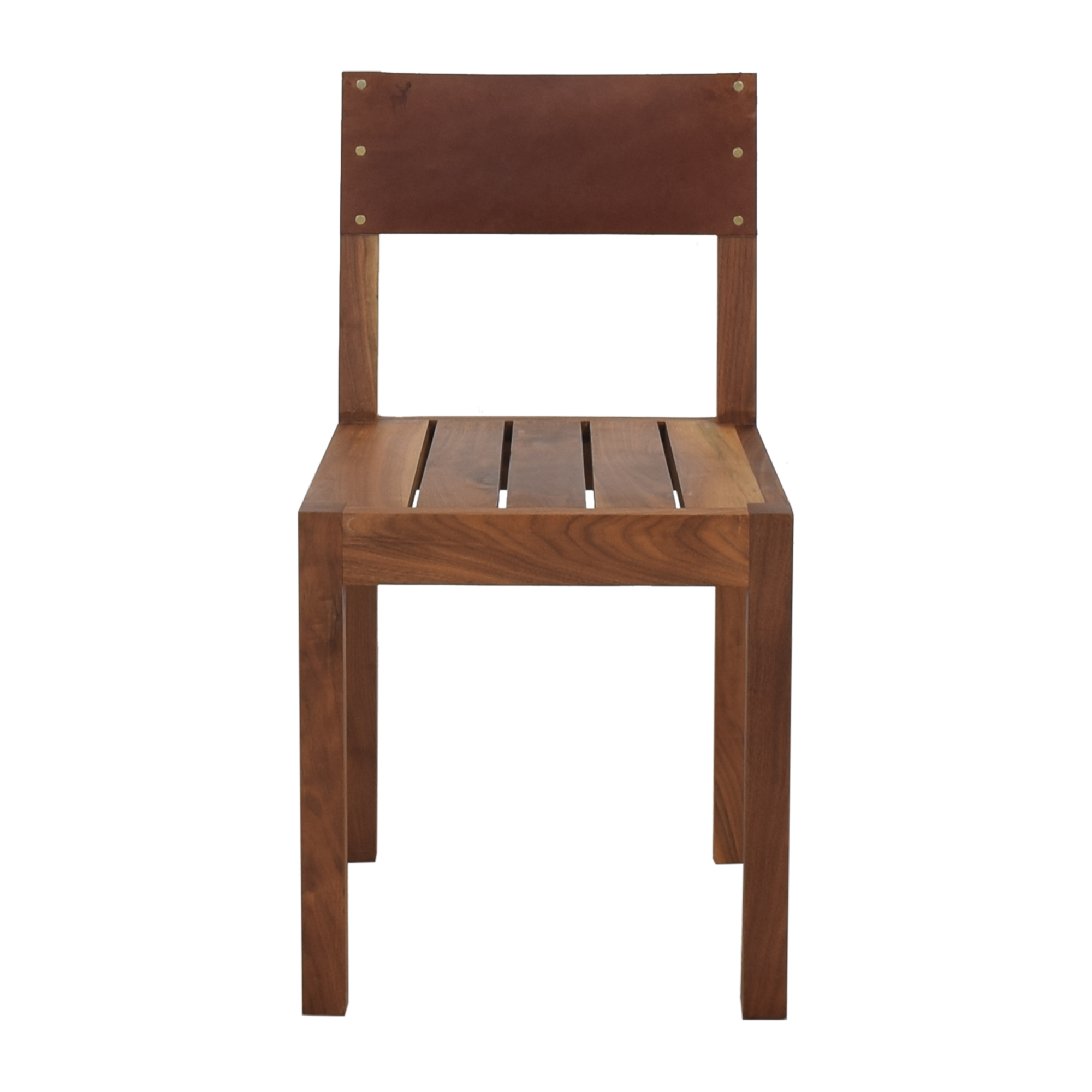 buy Organic Modernism Leather Back Dining Chair Organic Modernism Chairs