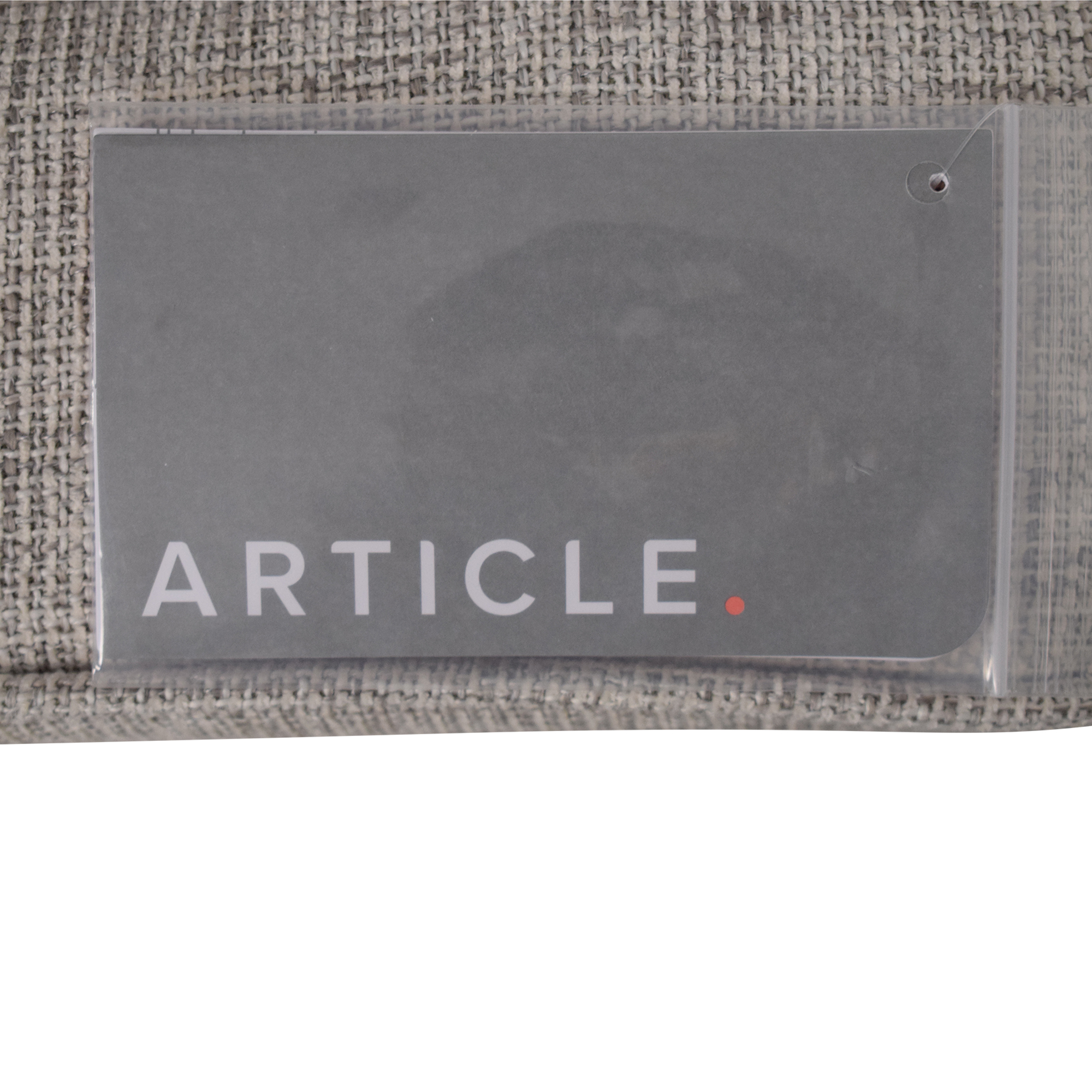 Article Article Sven Sofa with Ottoman light grey