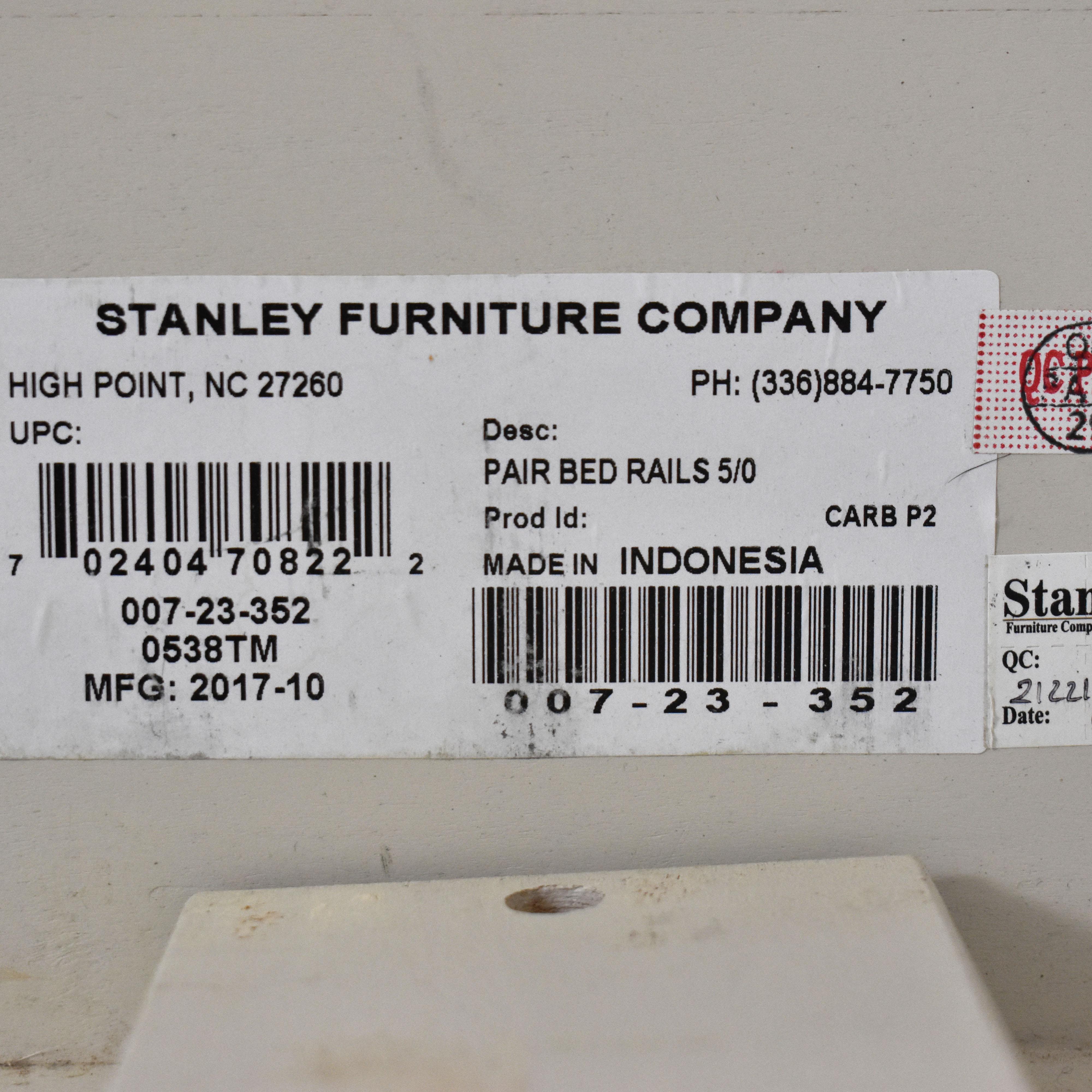 shop Stanley Furniture French Panel Platform Bed Stanley Furniture