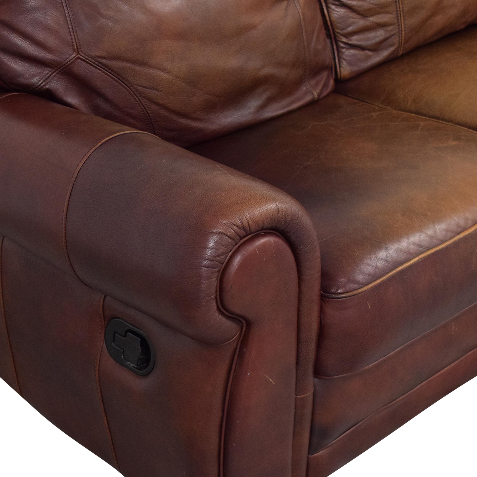 shop Three Cushion Reclining Sofa  Classic Sofas