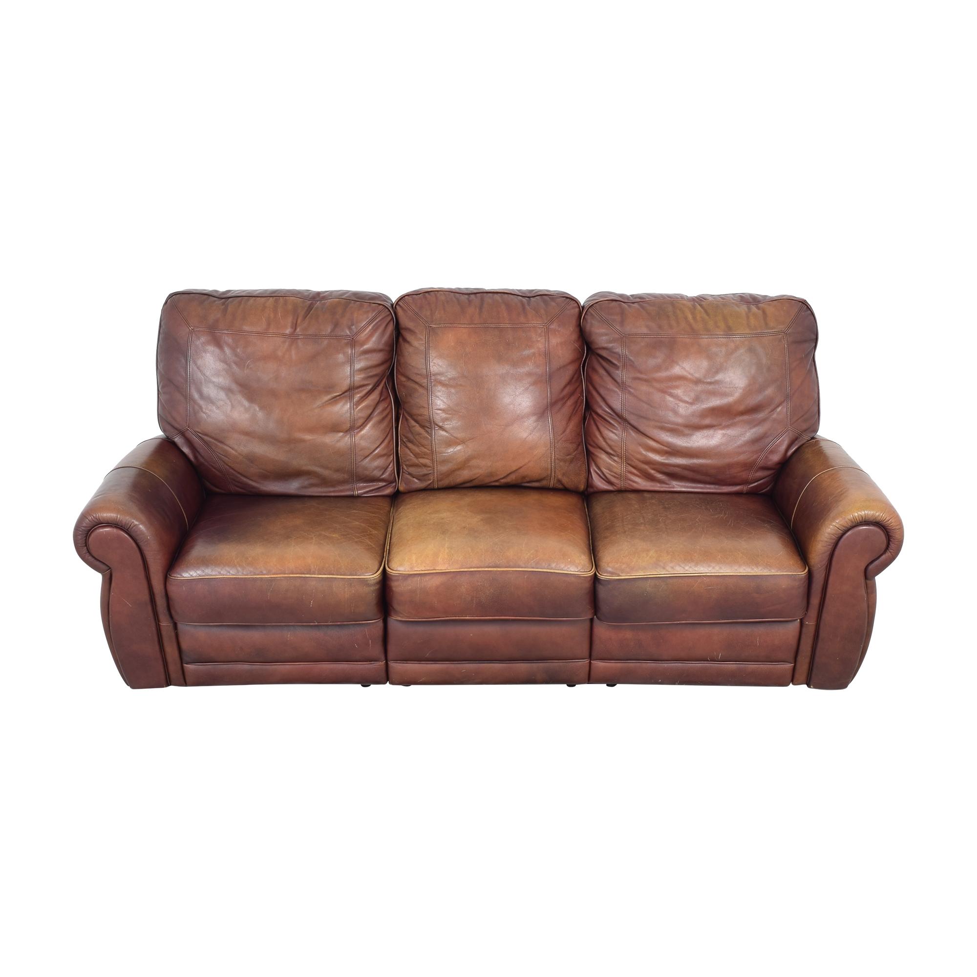 Three Cushion Reclining Sofa / Sofas
