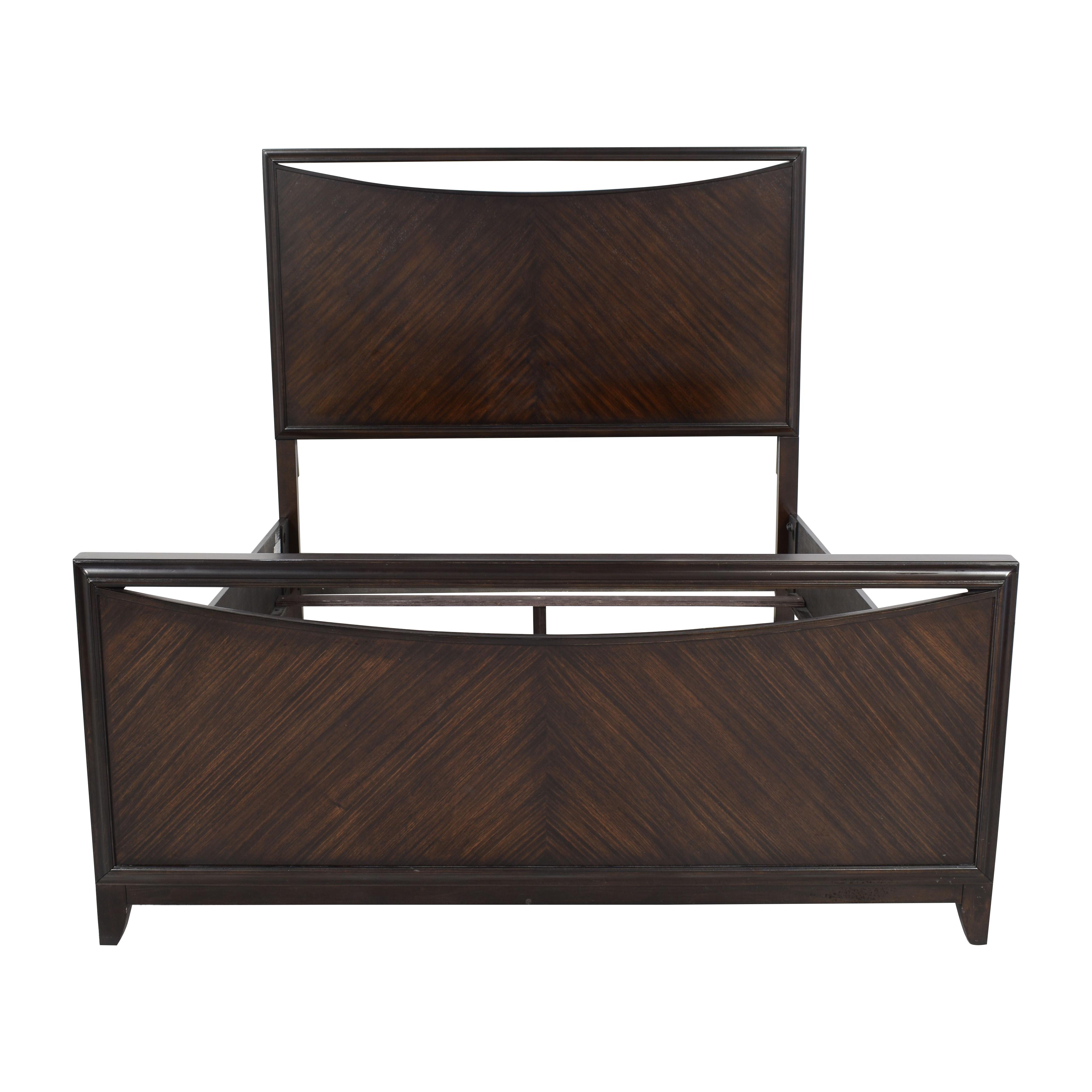 Raymour & Flanigan Raymour & Flanigan Anja Queen Bed with High Headboard discount