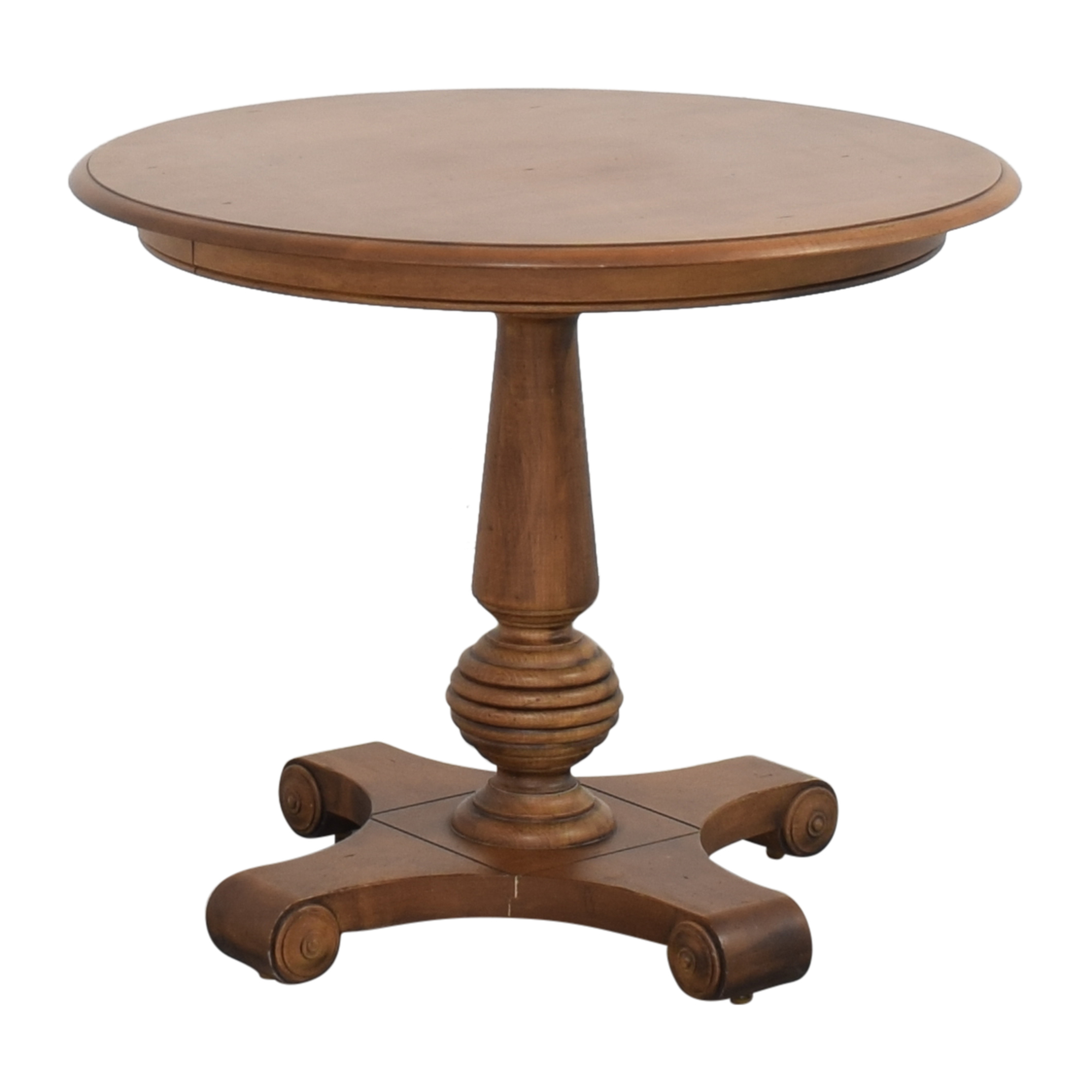 Ethan Allen Ethan Allen New Country Round Side Table dimensions