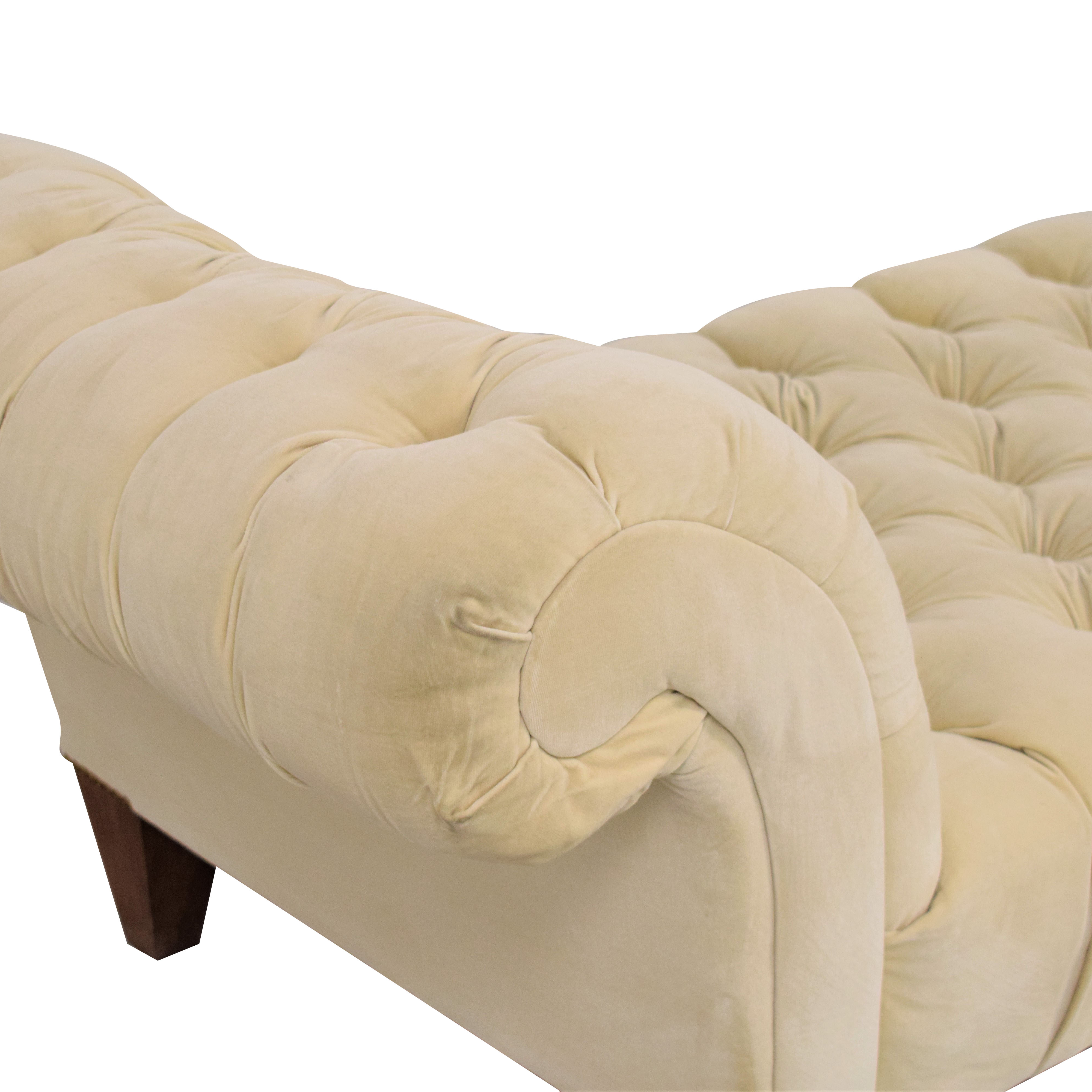 Canvas Home Canvas Home Chesterfield Chaise coupon