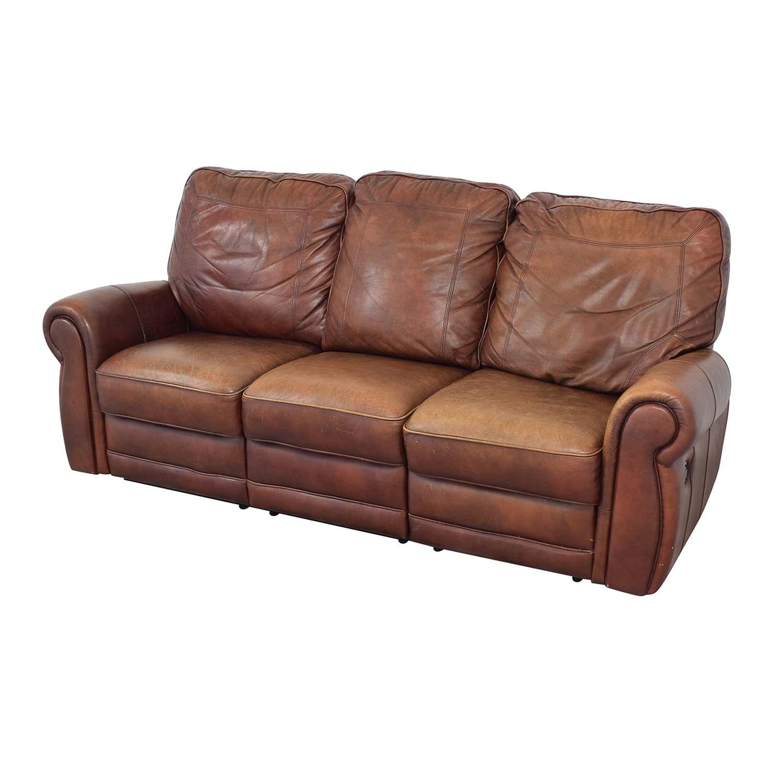 Three Cushion Reclining Sofa / Classic Sofas