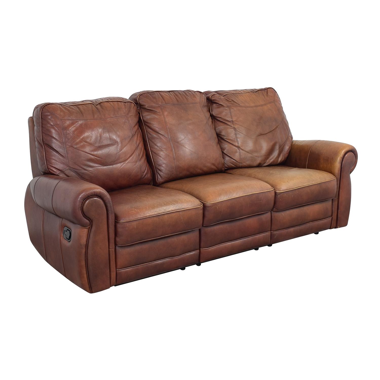 Three Cushion Reclining Sofa price