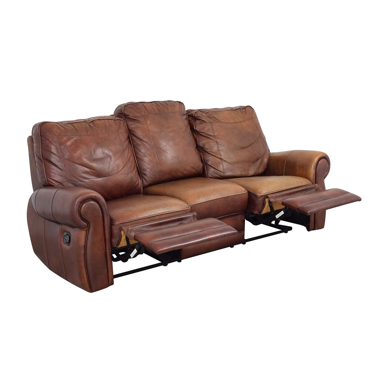 buy Three Cushion Reclining Sofa  Classic Sofas