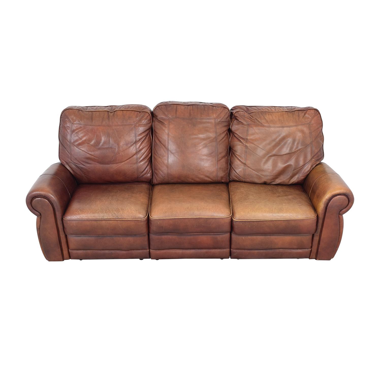 Three Cushion Reclining Sofa Classic Sofas