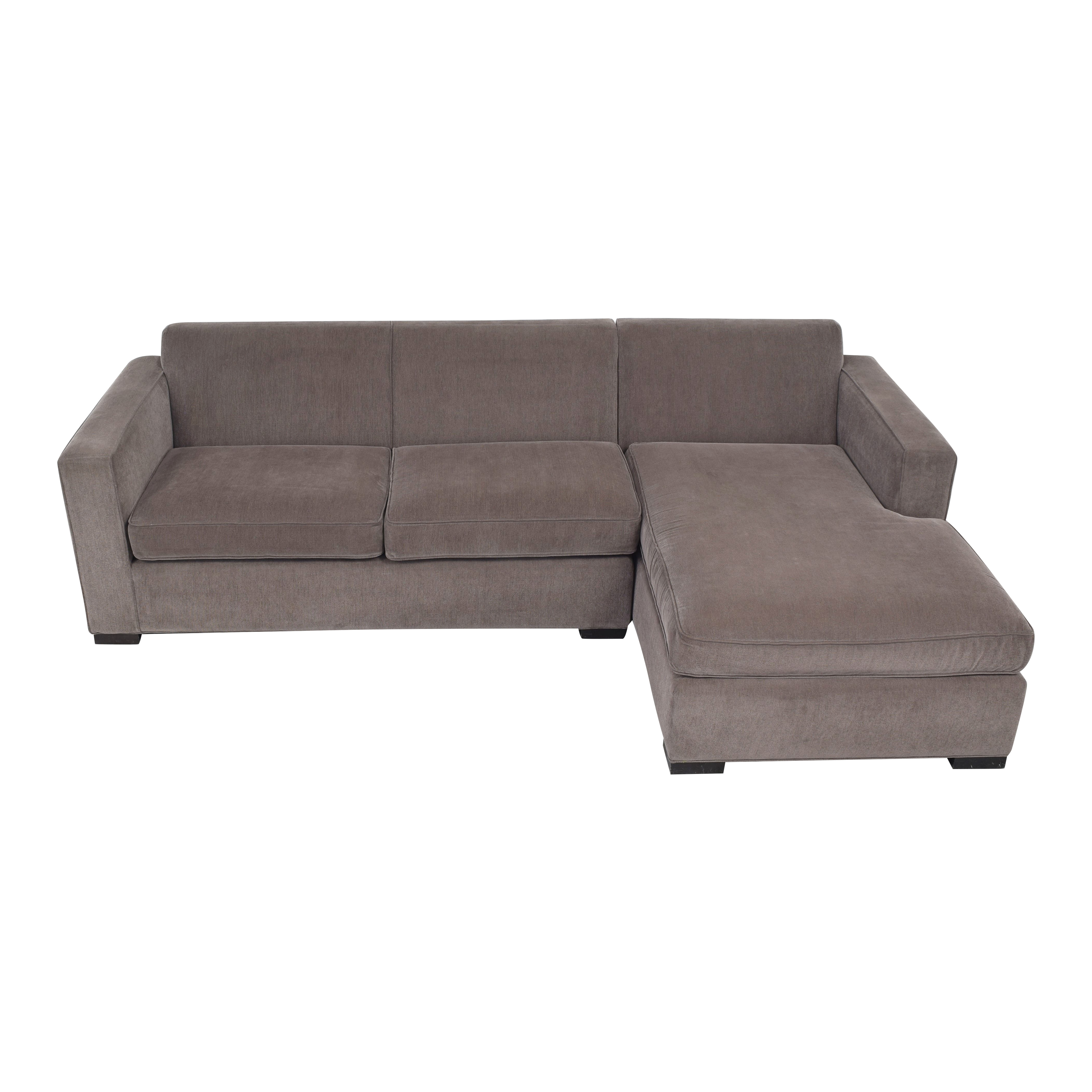 buy Room & Board Ian Two Piece Sectional Sofa Room & Board Sectionals
