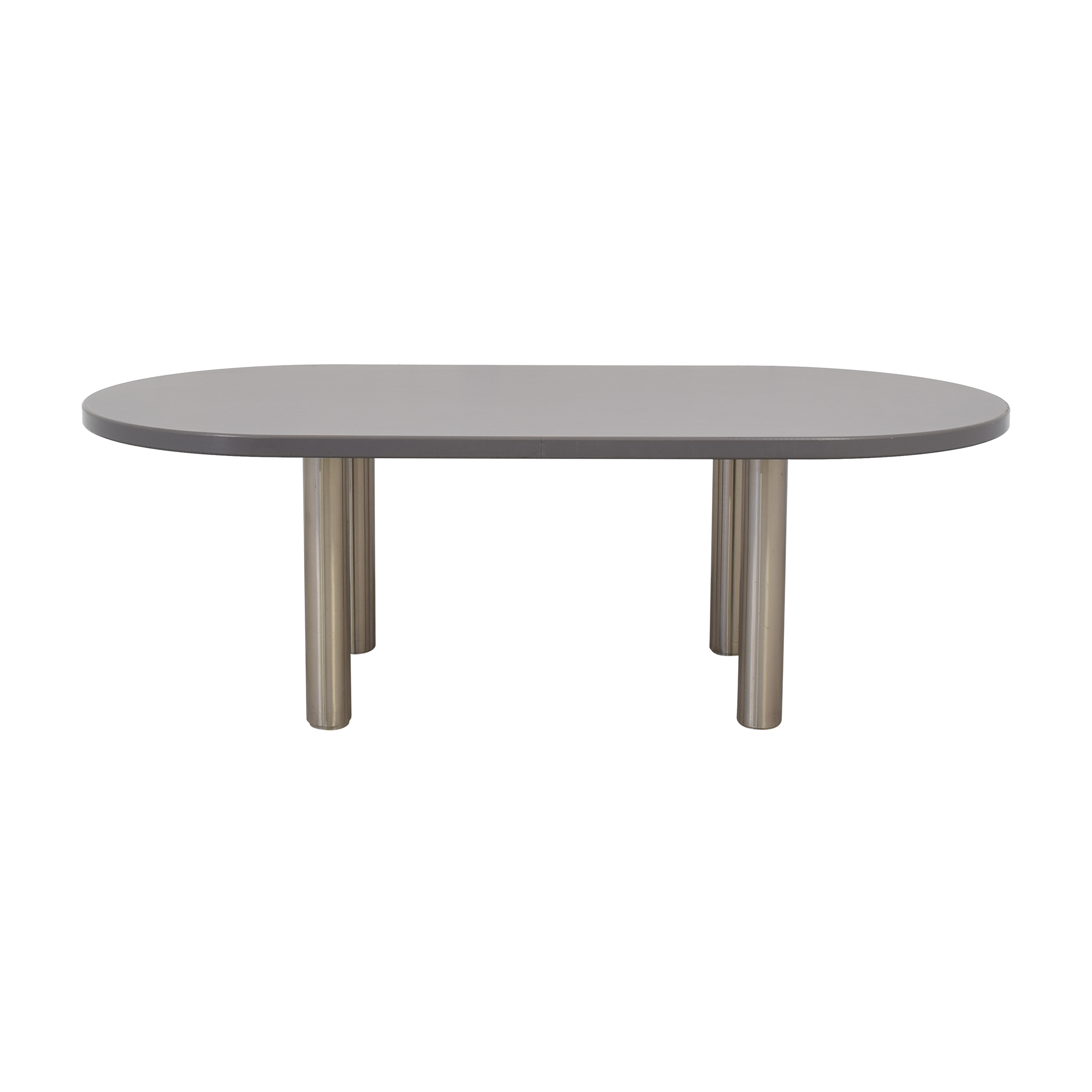 Knoll Knoll Reff Profile Meeting Table grey
