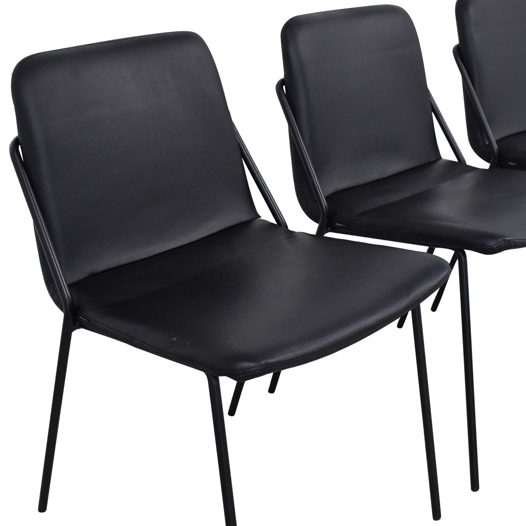 m.a.d. m.a.d. Sling Upholstered Leather Chairs