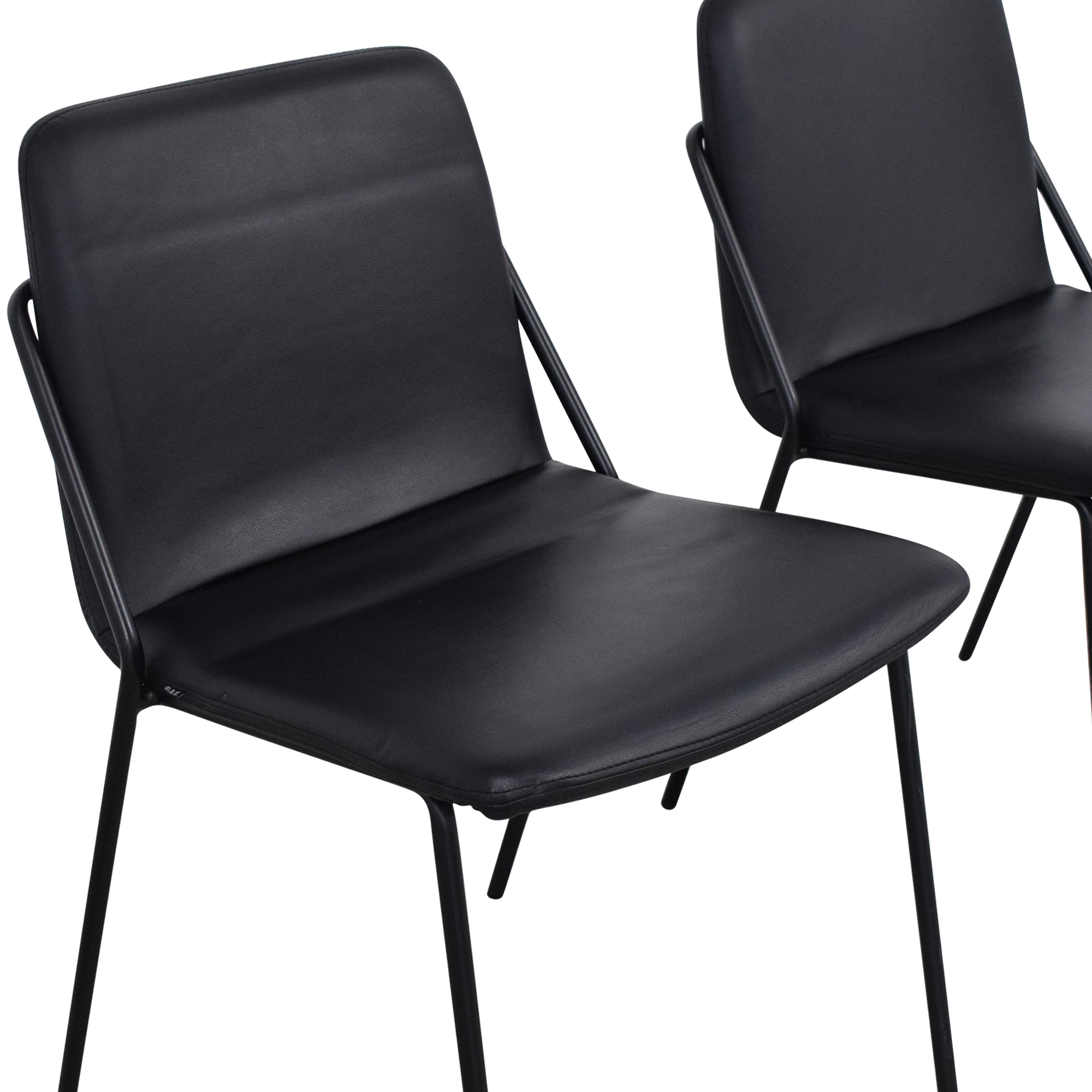 m.a.d. m.a.d. Sling Upholstered Leather Chairs discount