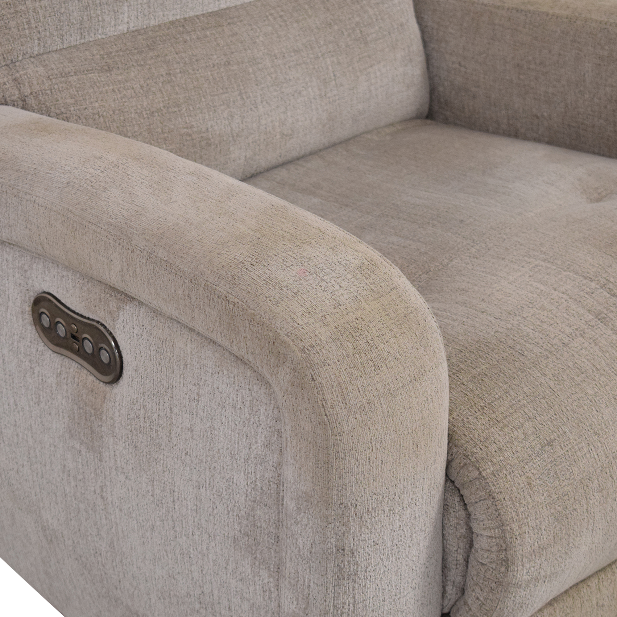 Macy's Stellarae Fabric Power Recliner / Recliners