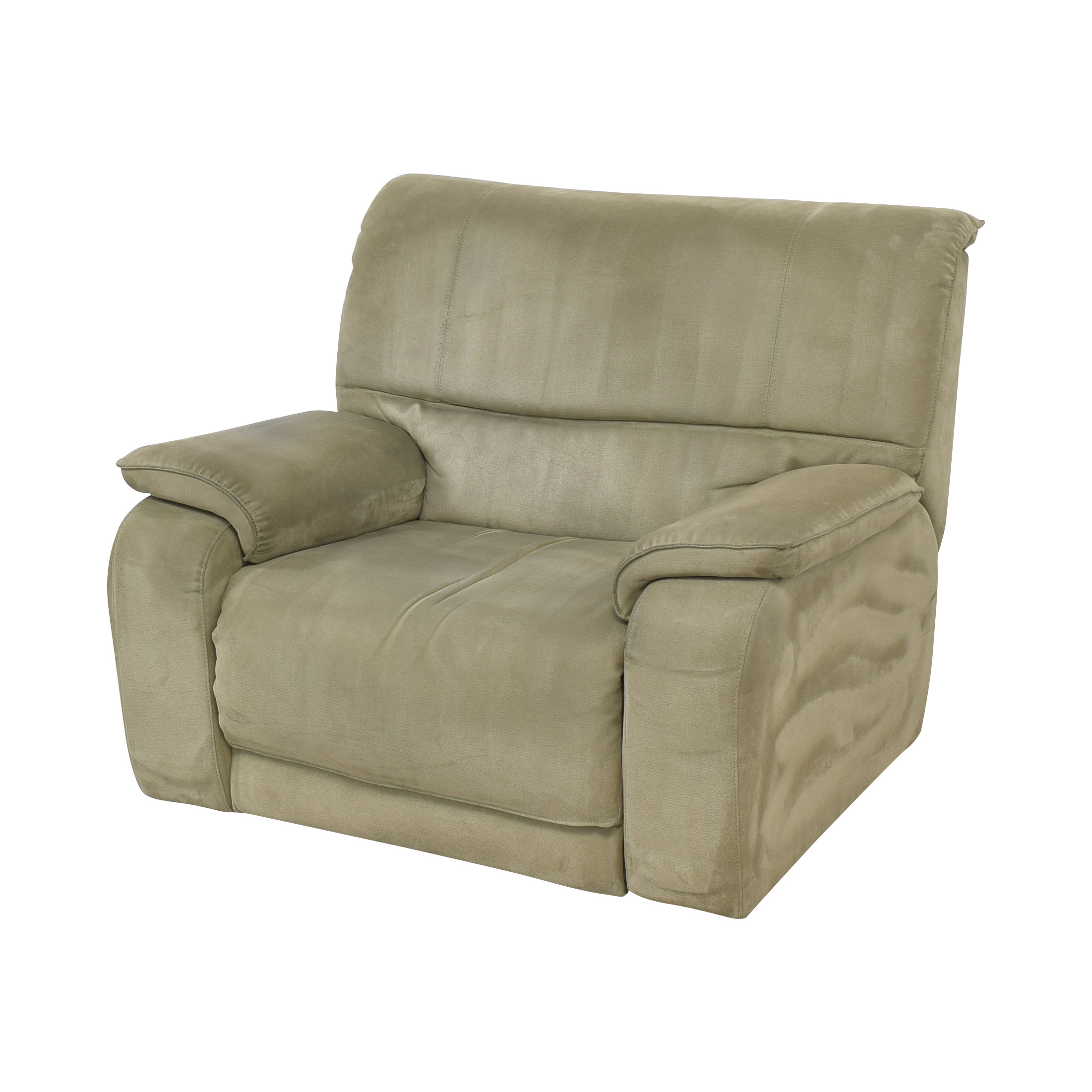 Macy's Macy's Oversized Recliner grey