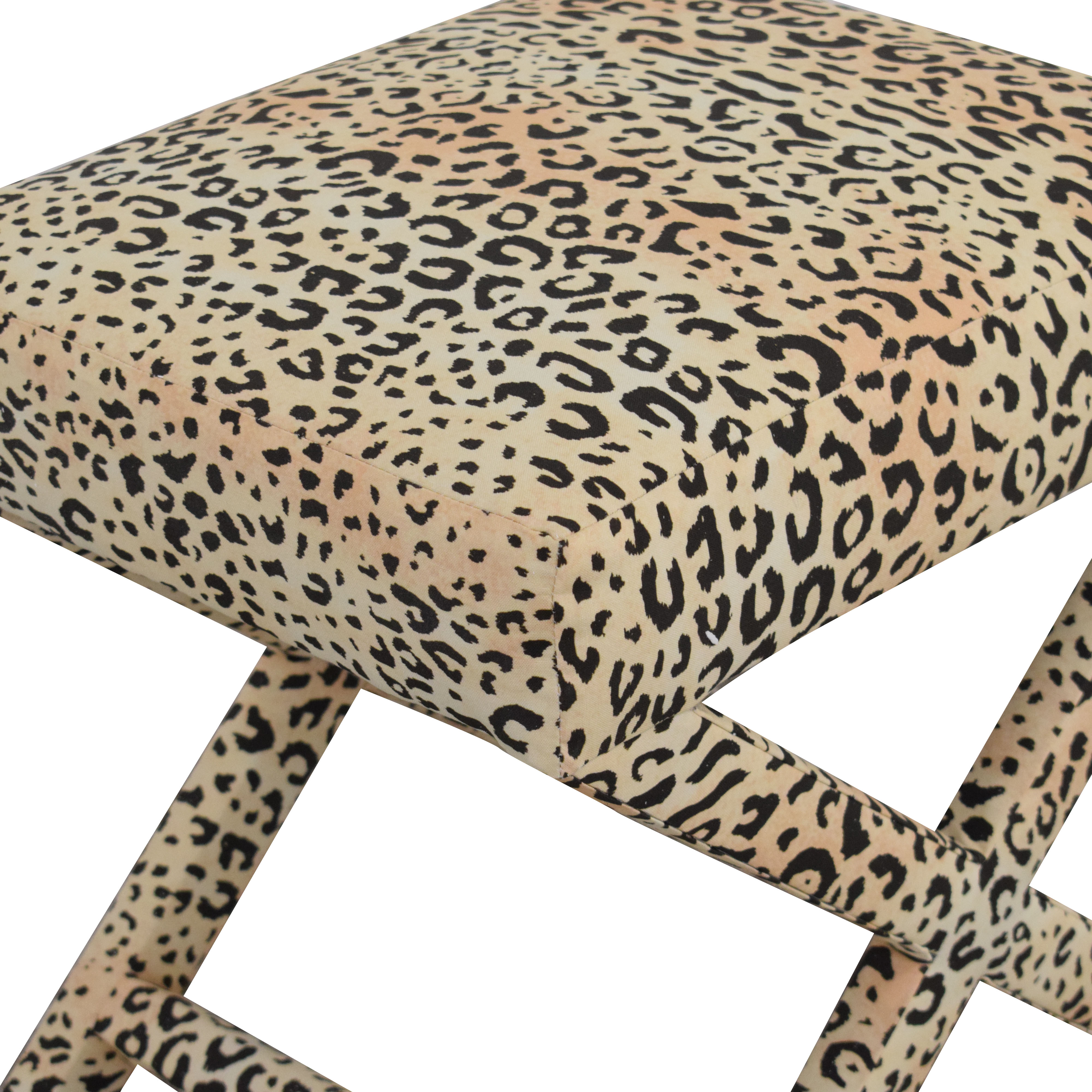 The Inside Ther Inside Leopard X-Bench on sale