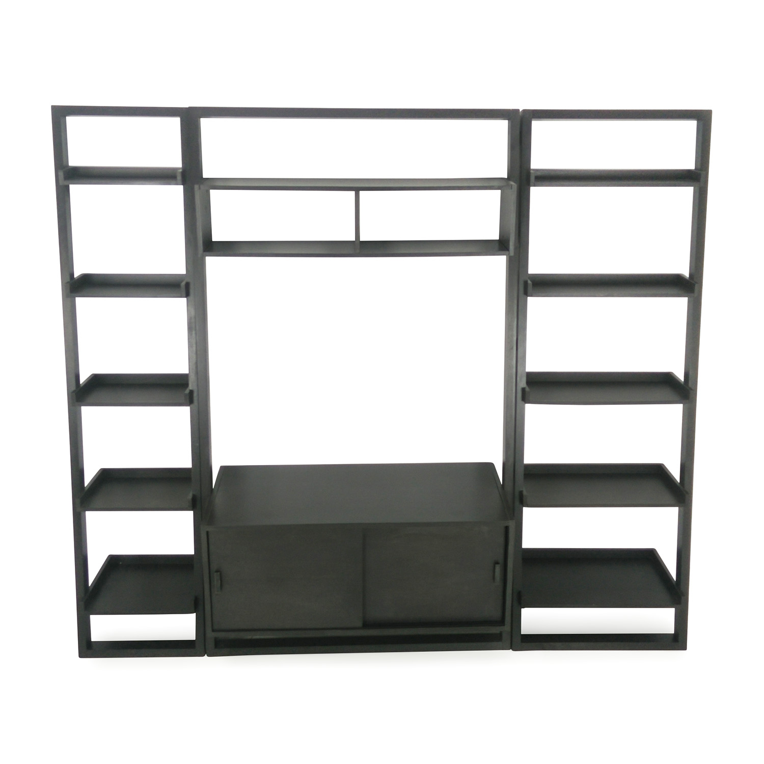 Crate and Barrel Crate and Barrel Leaning Media Stand