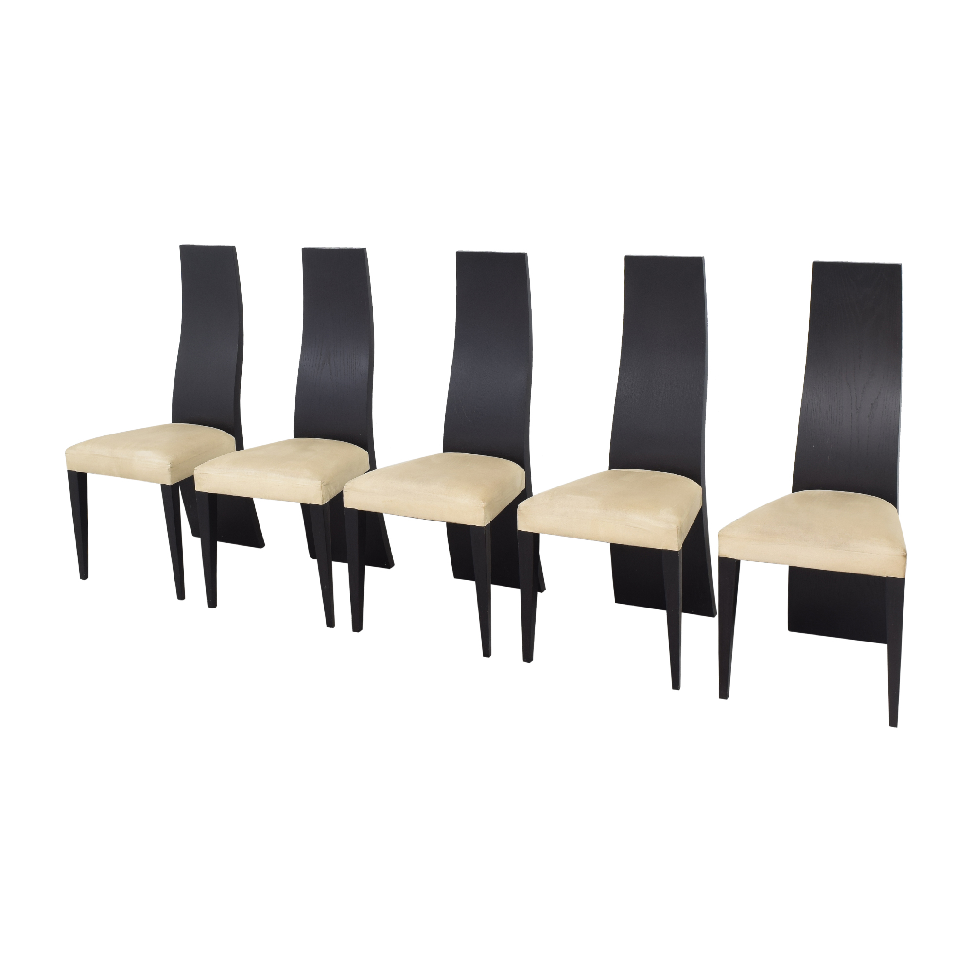 La Maison Contemporaine La Maison Contemporaine Solid Back Dining Chairs
