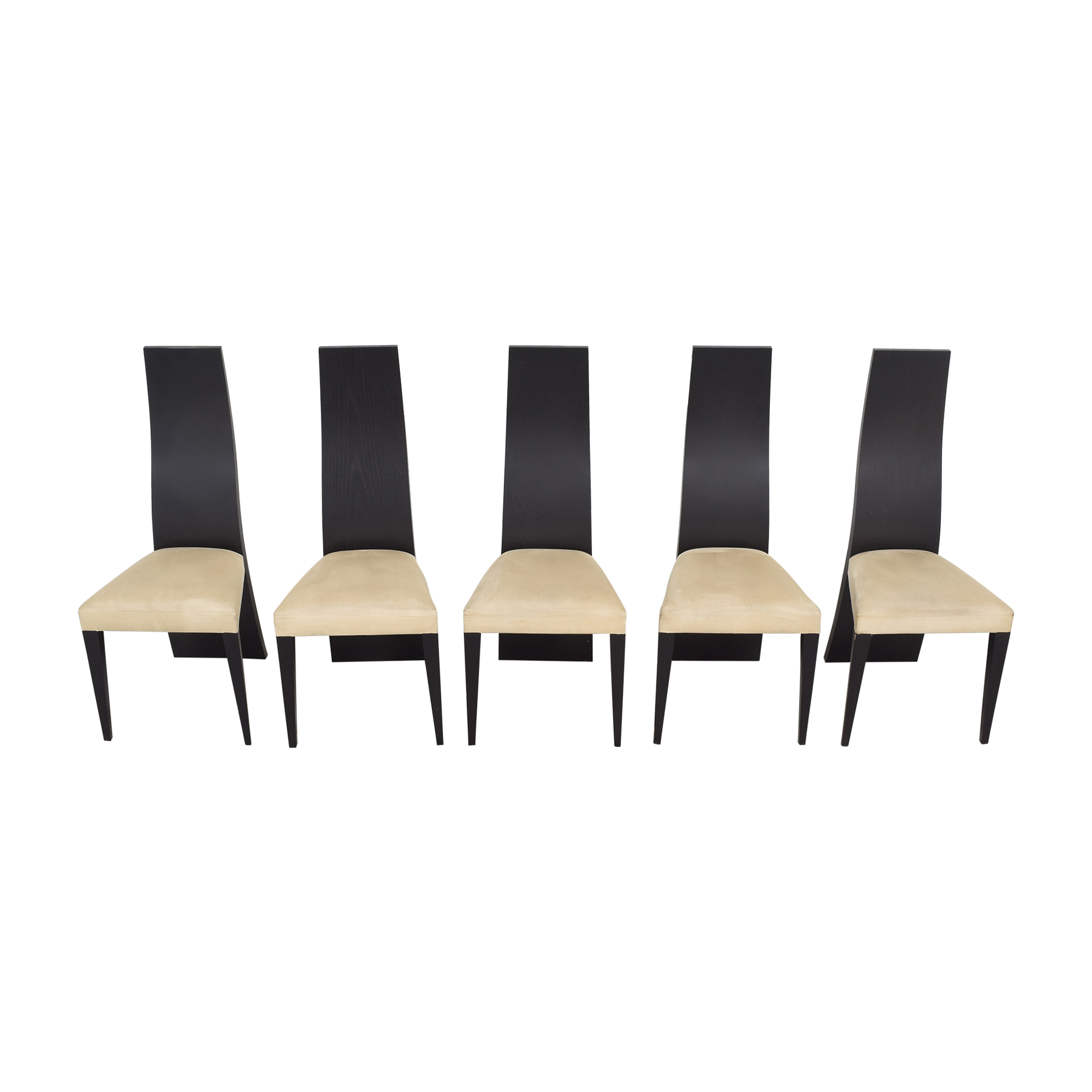 La Maison Contemporaine La Maison Contemporaine Solid Back Dining Chairs Dining Chairs