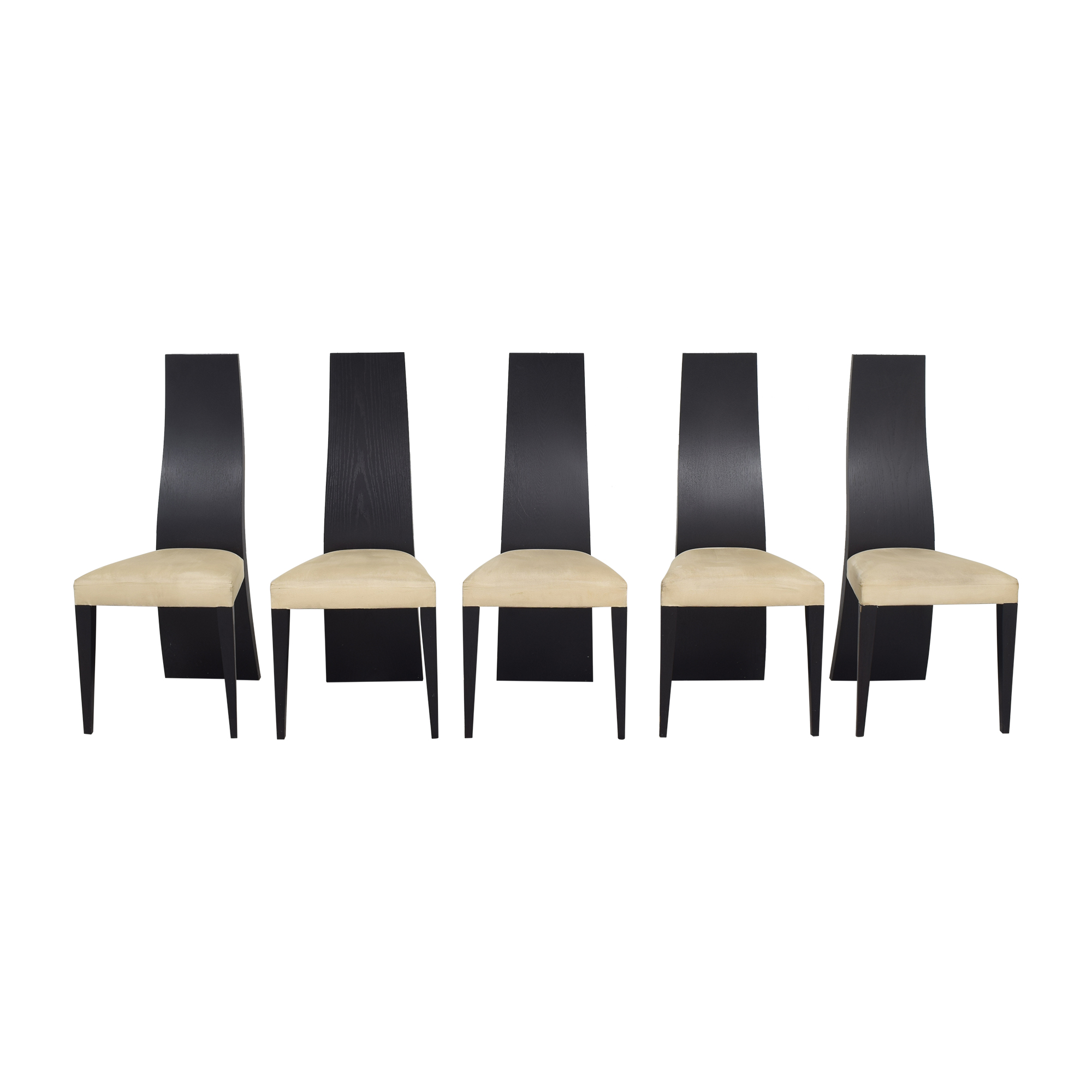 La Maison Contemporaine Solid Back Dining Chairs sale