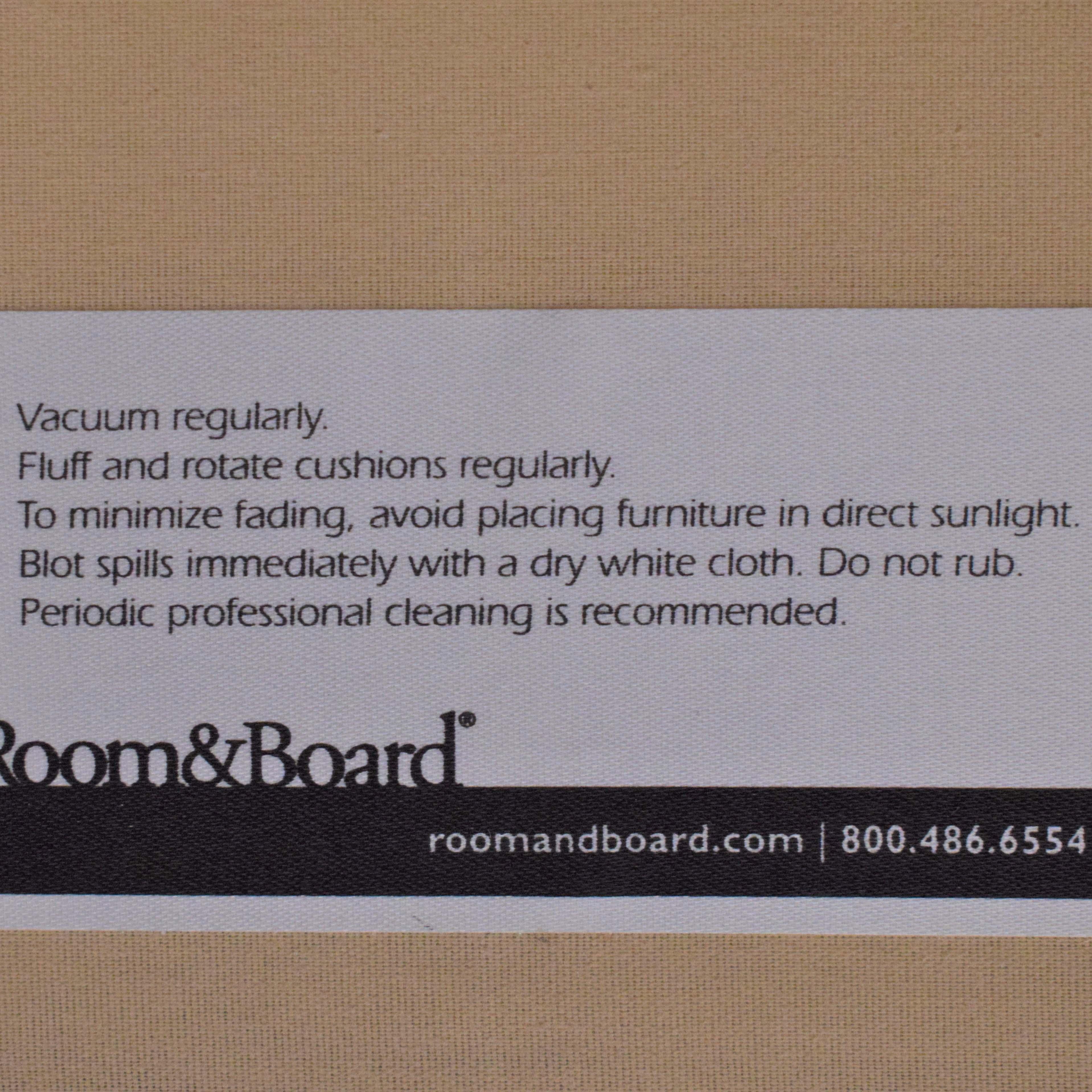 Room & Board Room & Board Loring Walnut Loveseat ma
