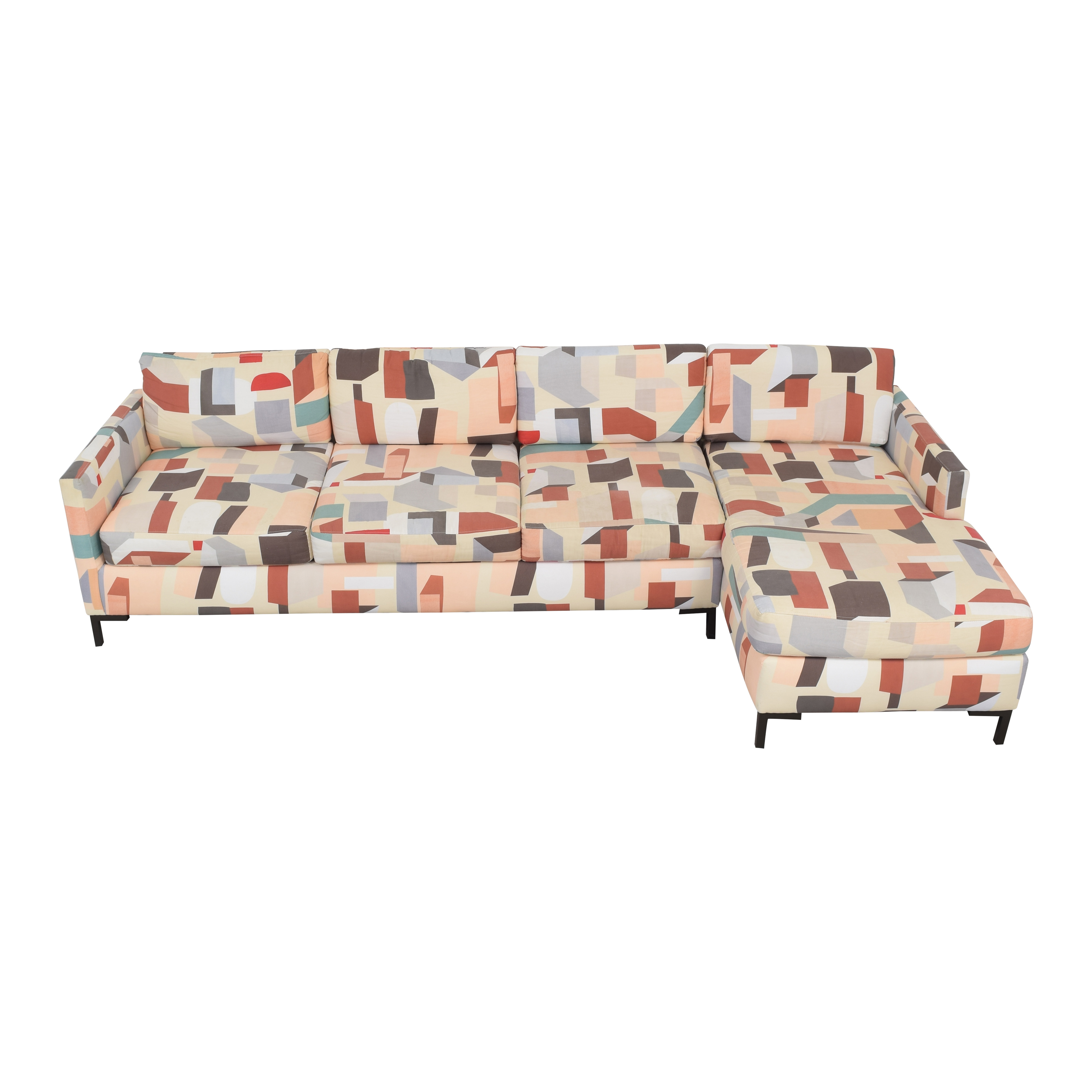 The Inside The Inside Modern Right Facing Sectional on sale