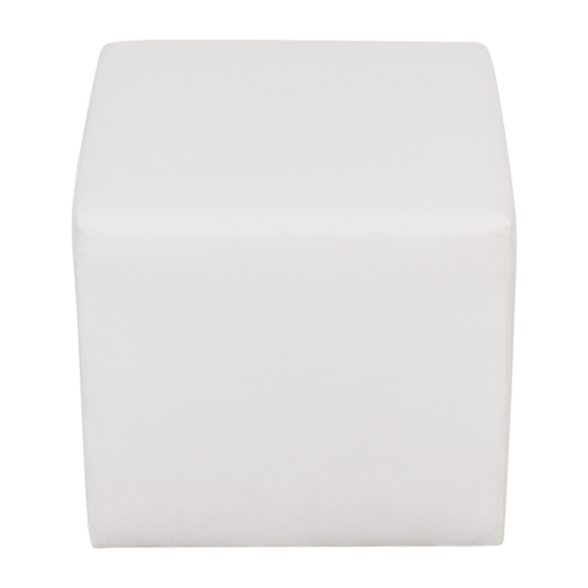 The Inside The Inside Cube Ottoman white